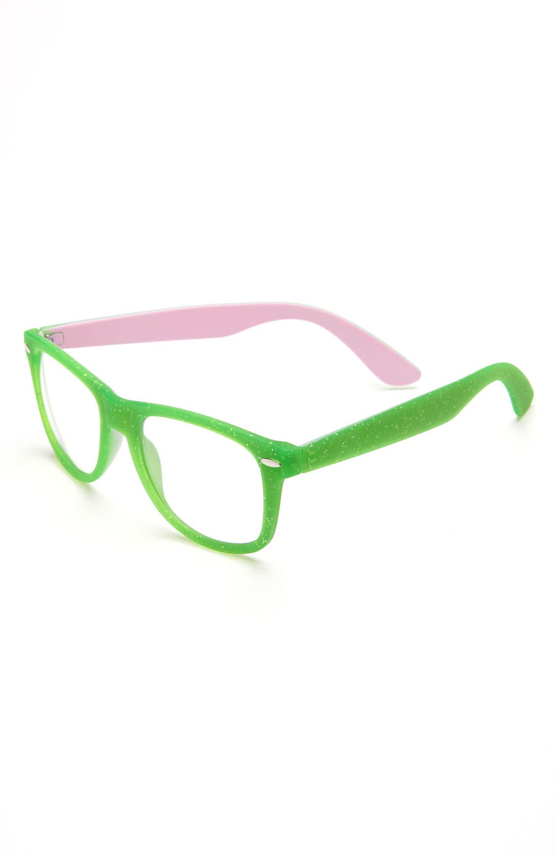 Alternate Image 1 Selected - Fantas Eyes Clear Lens Sunglasses (Girls)