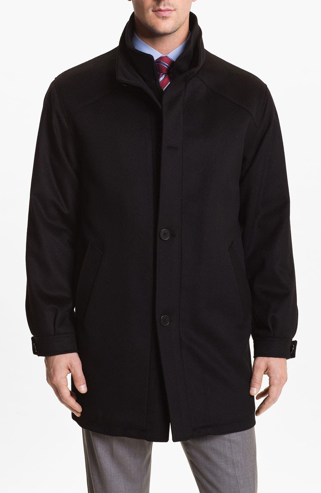 Alternate Image 1 Selected - Cardinal of Canada Wool Blend Car Coat