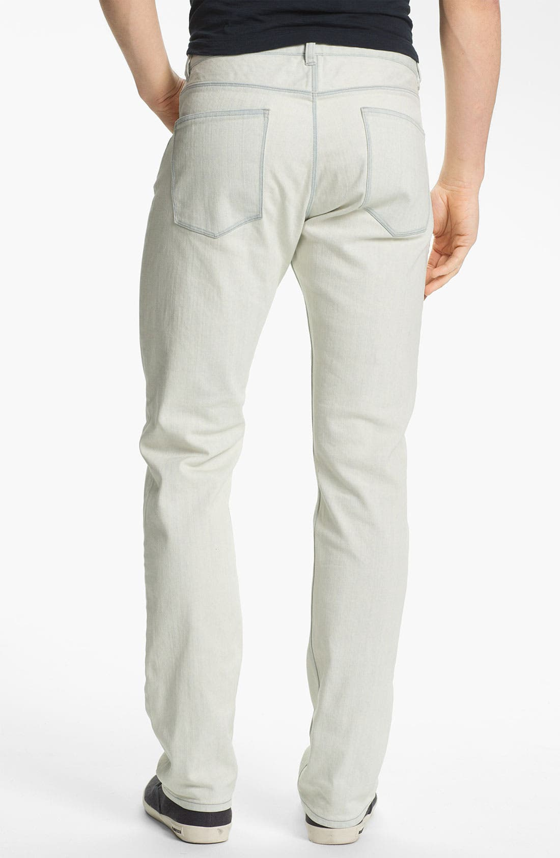 Alternate Image 2  - Theory 'Raffi Burliegh' Slim Leg Jeans (Bleached Out)