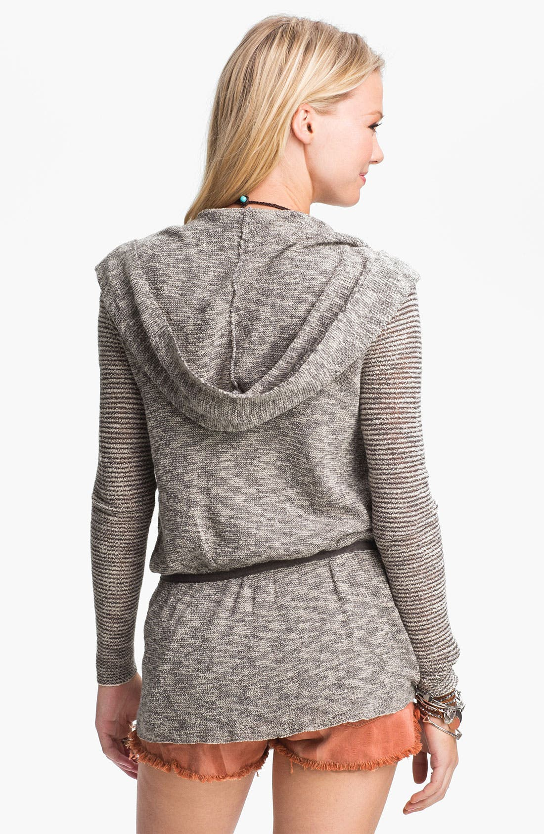 Alternate Image 2  - Free People 'For Keeps' Hooded Cardigan