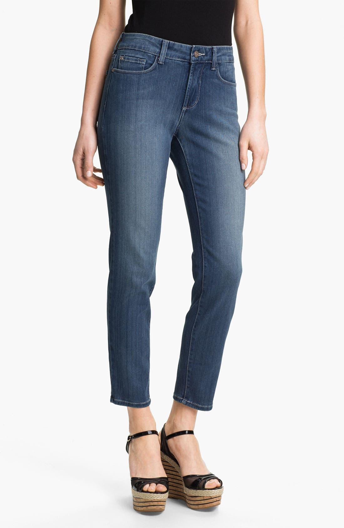 Main Image - NYDJ 'Alina' Stretch Skinny Jeans (Petite)
