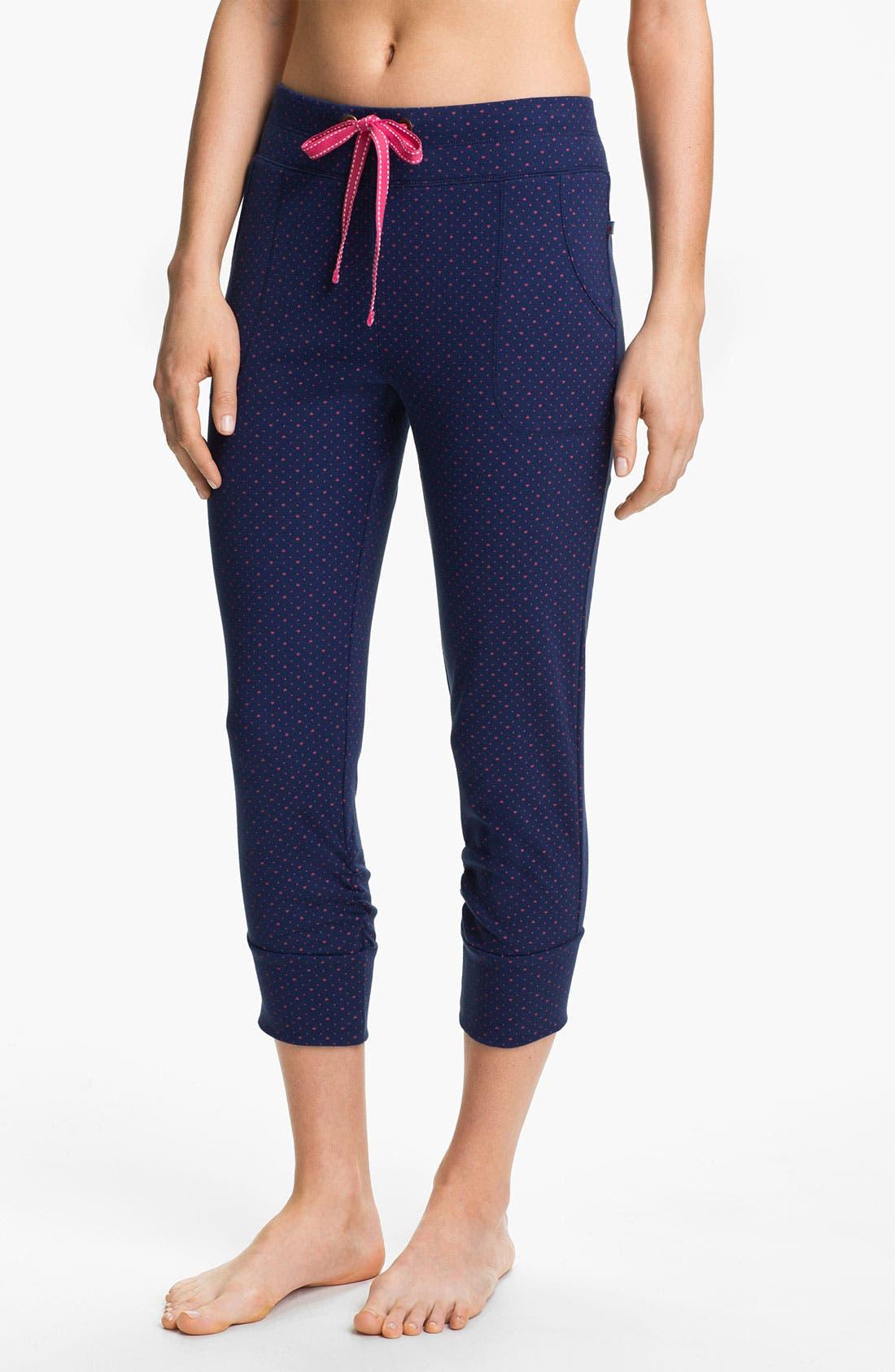 Alternate Image 1 Selected - Jane & Bleecker Crop Rib Knit Pants