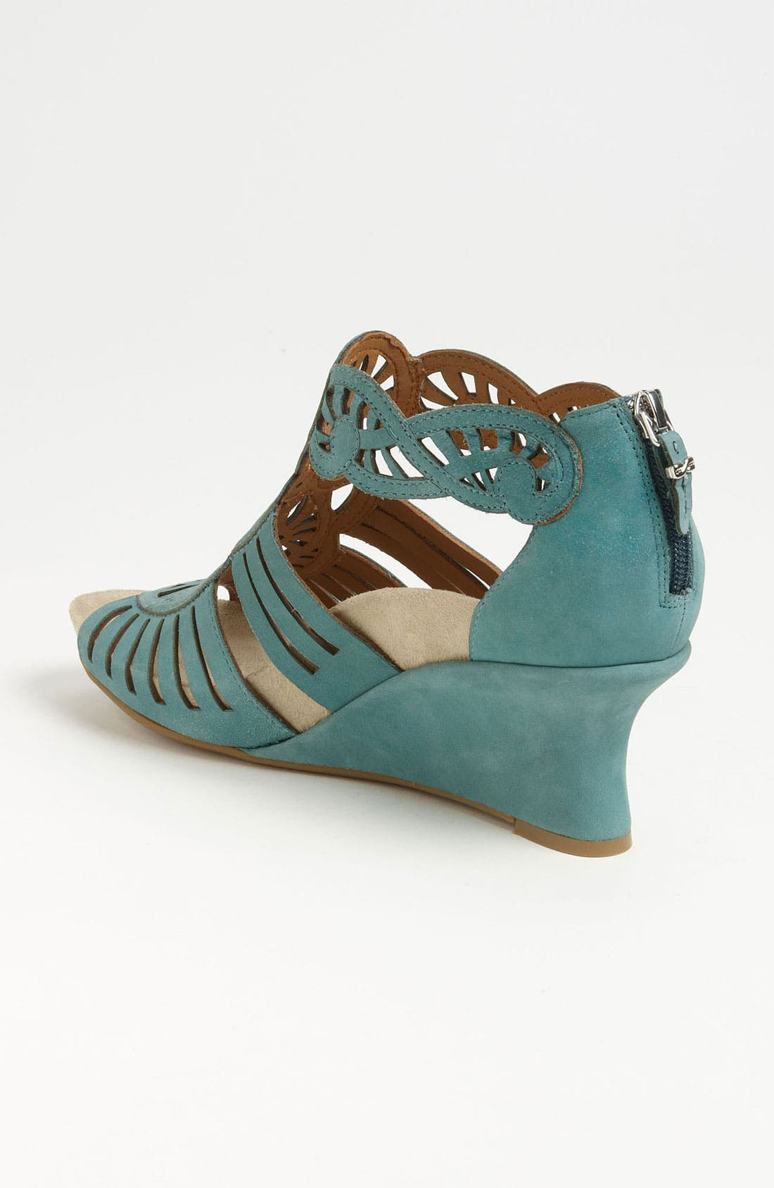 'Caradonna' Sandal,                             Alternate thumbnail 2, color,                             Light Teal