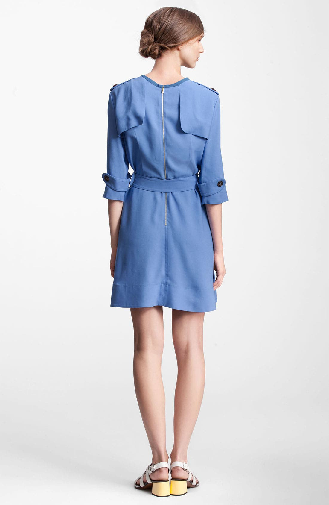 Alternate Image 2  - Marni Edition Belted Crepe Dress