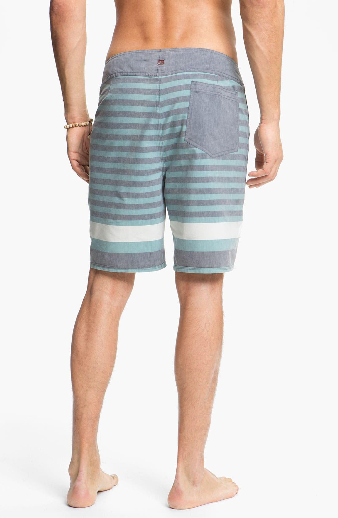 Alternate Image 5  - Quiksilver 'Biarritz' Stripe Board Shorts