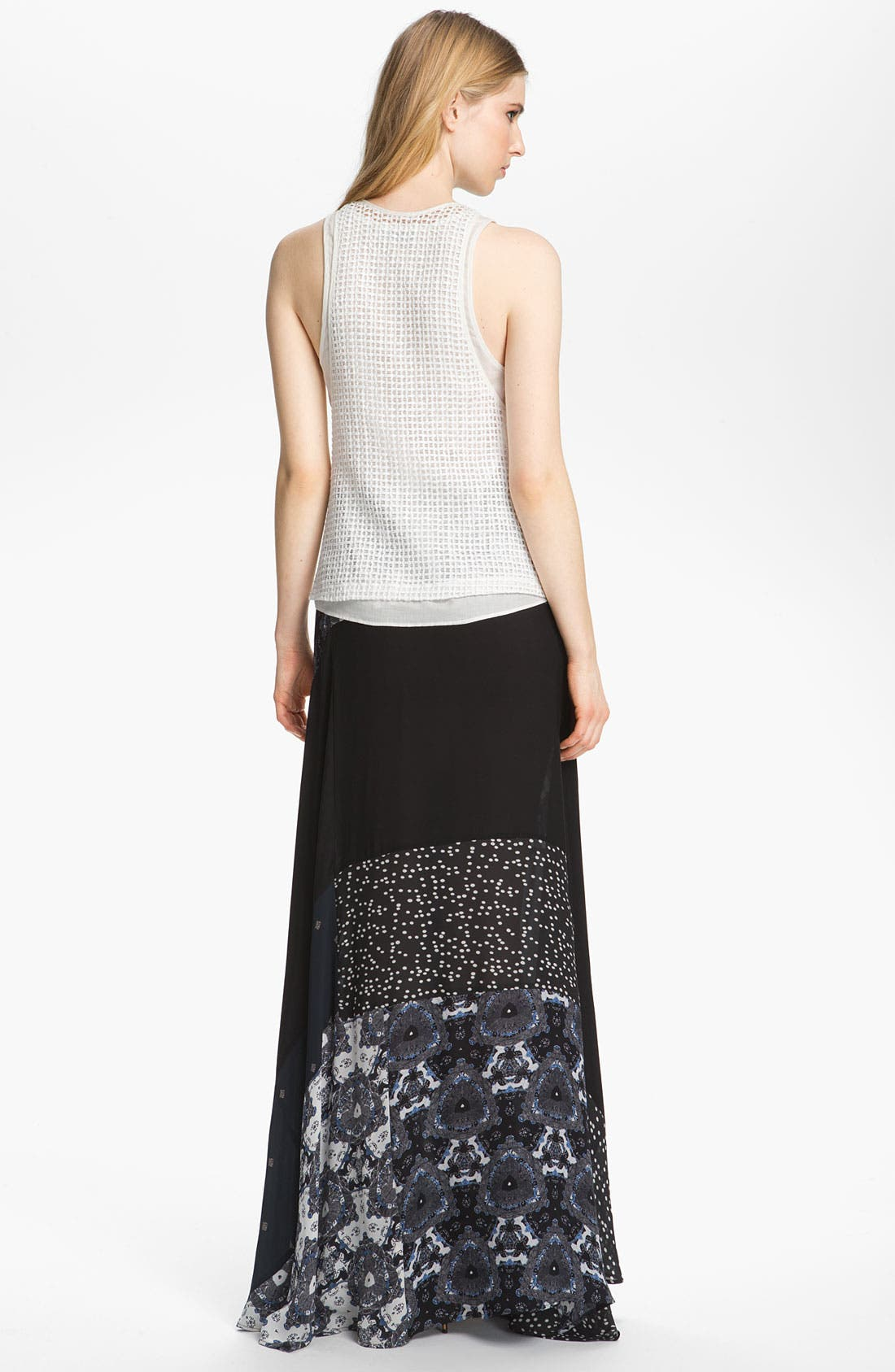 Alternate Image 2  - A.L.C. 'Brixton' Silk Wrap Skirt