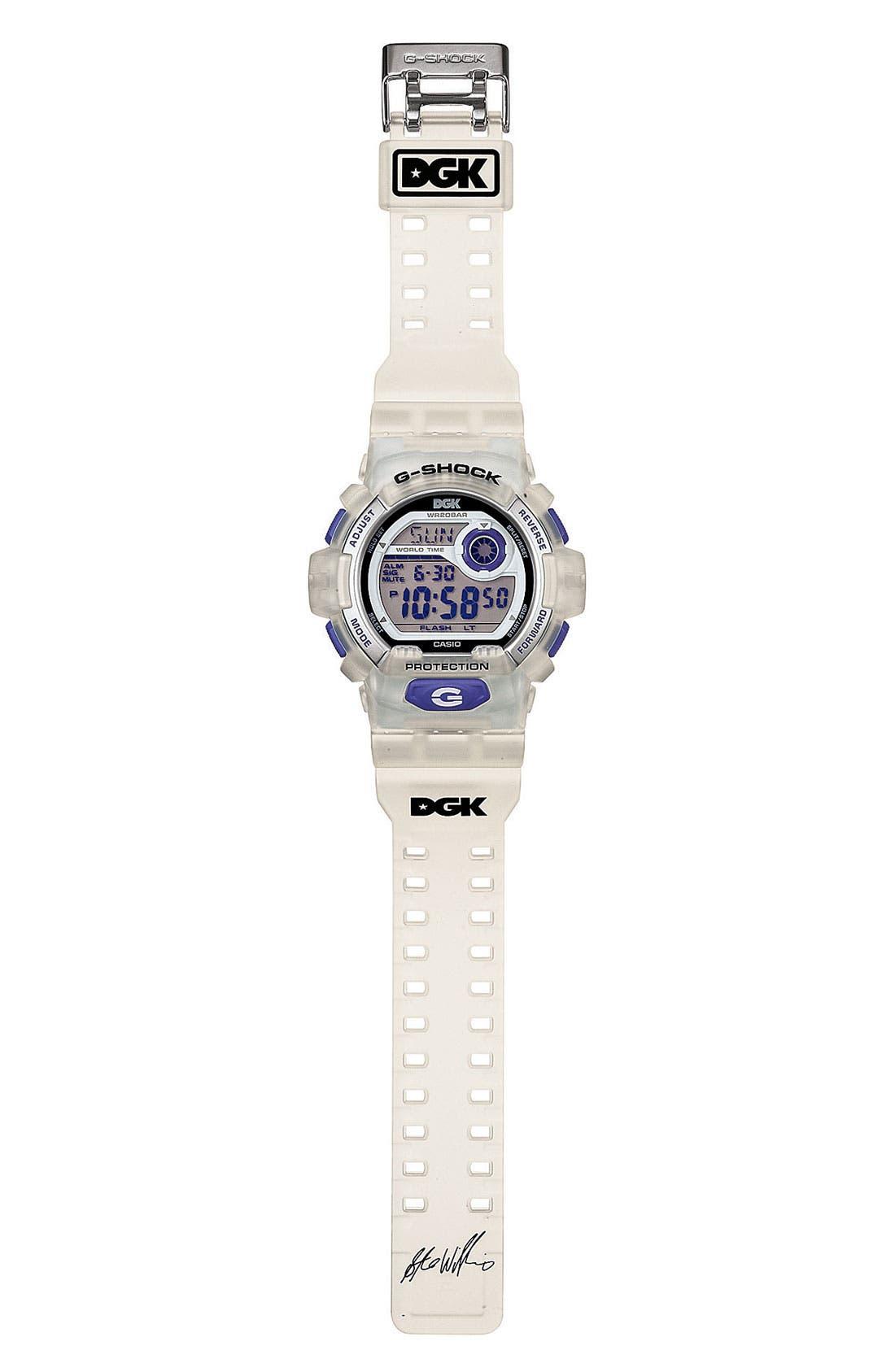 Alternate Image 2  - G-Shock 'DGK' Digital Watch, 55mm