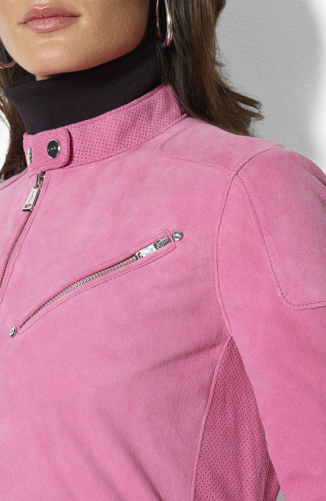 Alternate Image 3  - Lauren Ralph Lauren Suede Jacket