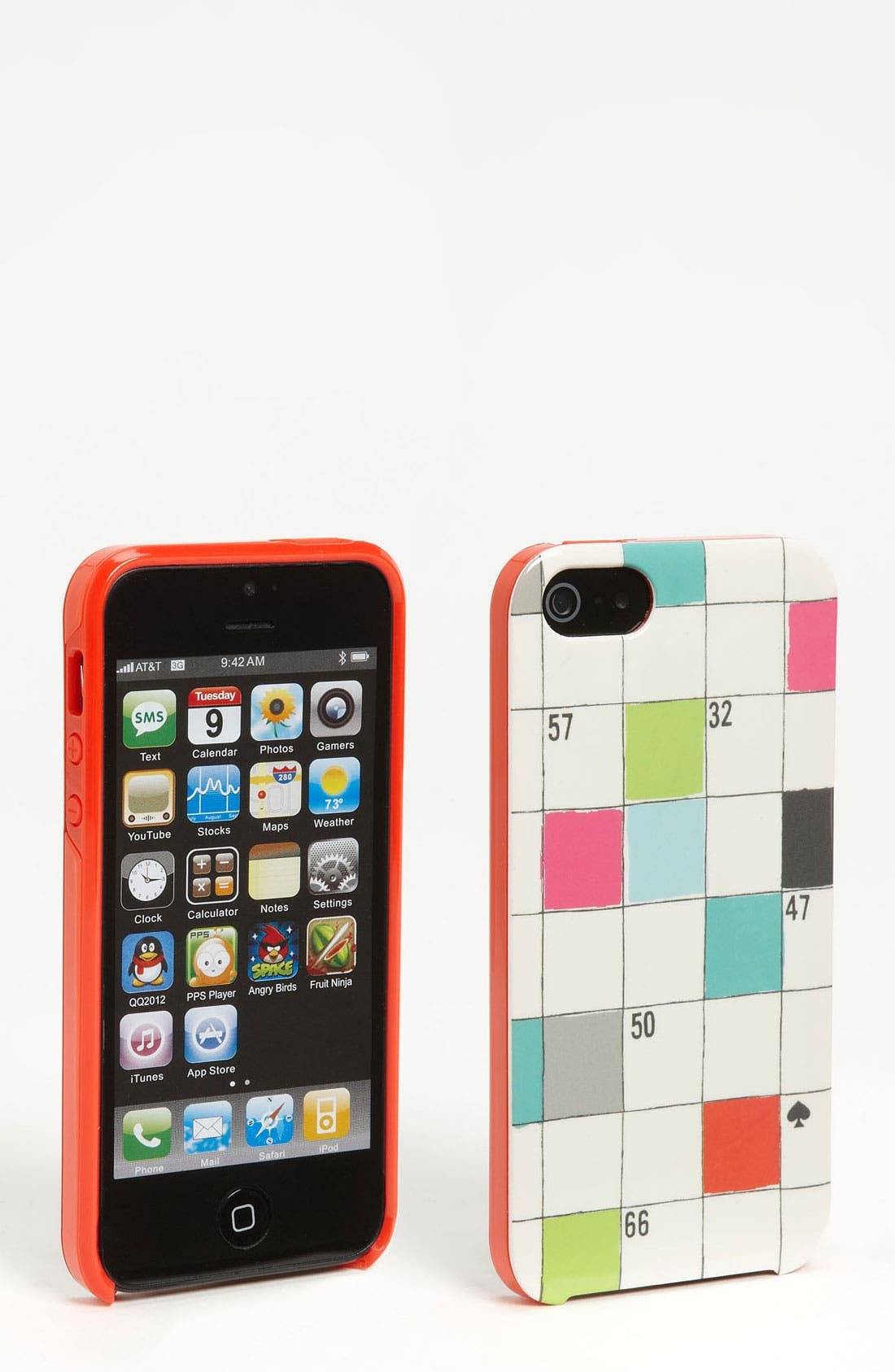 Main Image - kate spade new york 'crossword puzzle' iPhone 5 & 5S case (Nordstrom Exclusive)