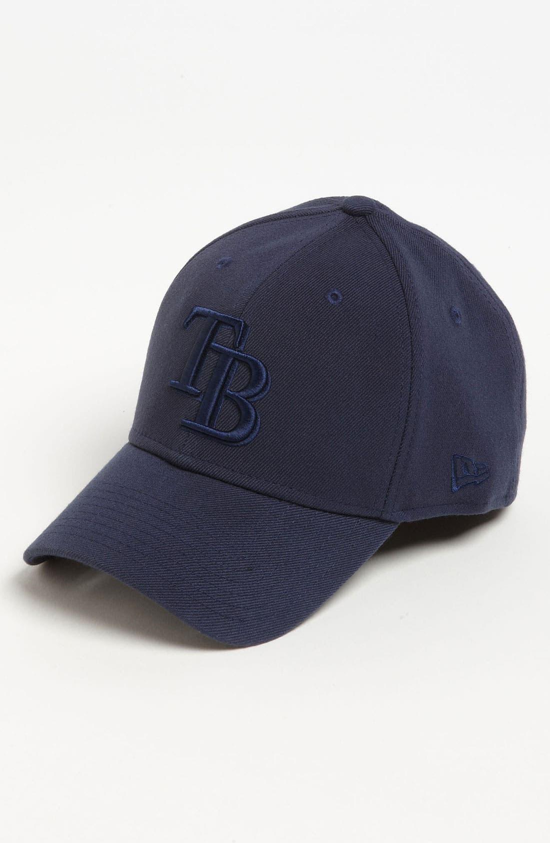 Alternate Image 1 Selected - New Era Cap 'Tampa Bay Rays - Tonal Classic' Fitted Baseball Cap