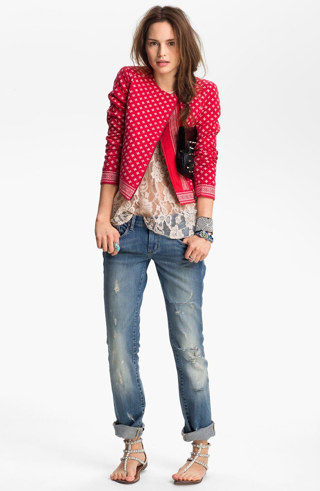 Main Image - BLANKNYC Boyfriend Jeans (Flavor Savor)