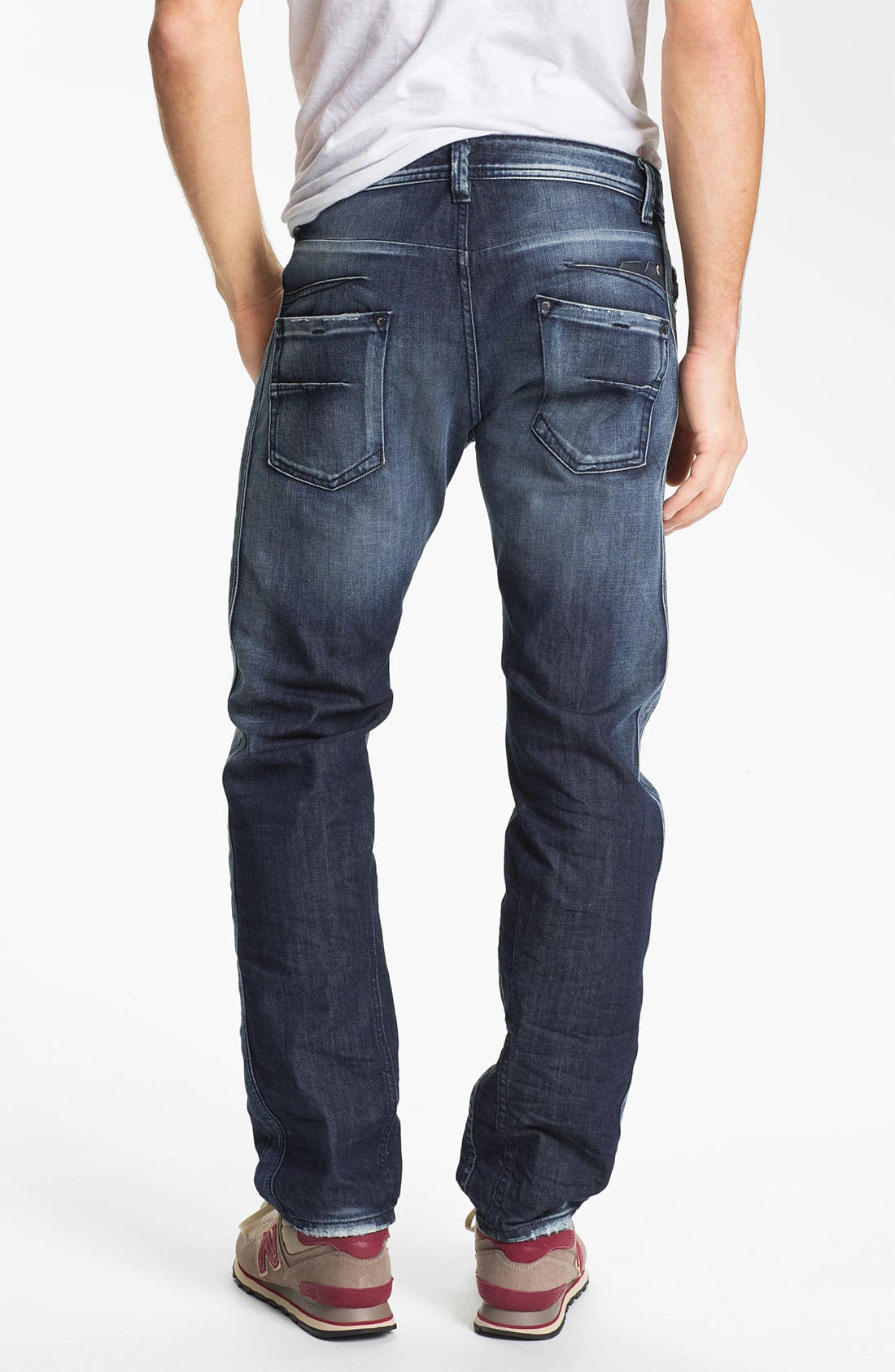 Alternate Image 1 Selected - DIESEL® 'Darron' Slim Fit Jeans (0810L)