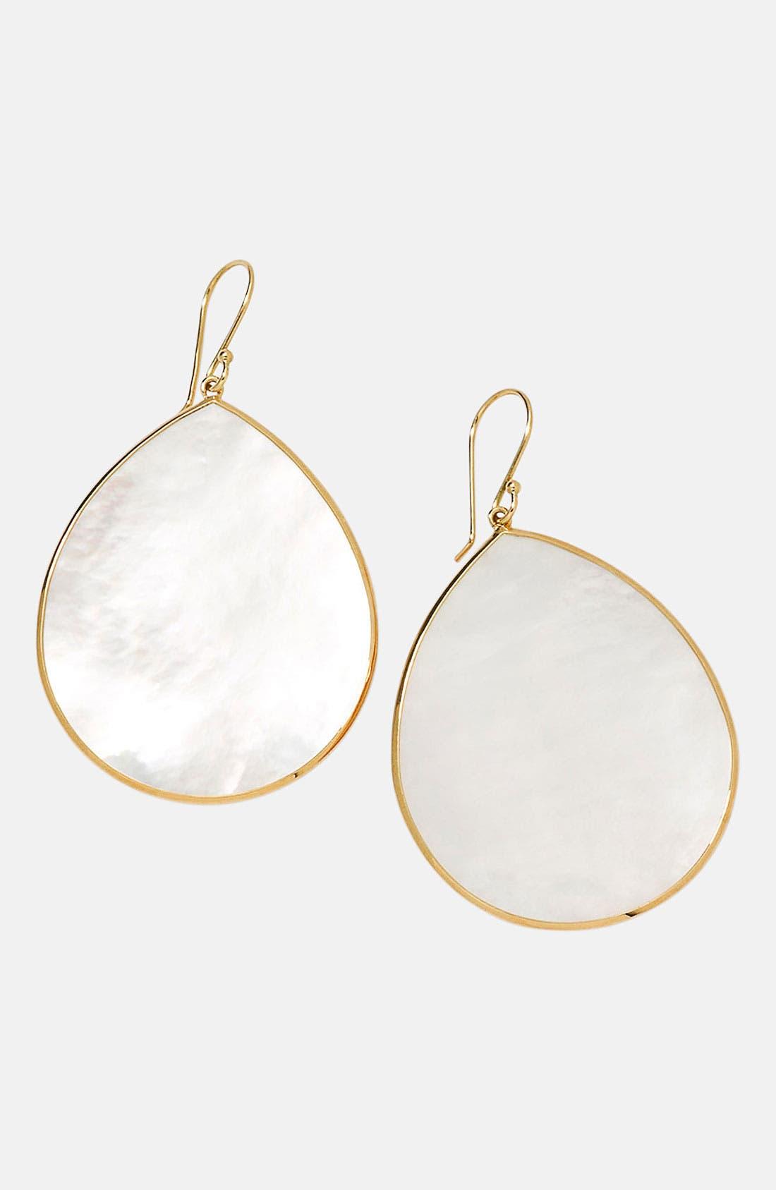 Main Image - Ippolita 'Rock Candy - Jumbo Teardrop' 18k Gold Earrings