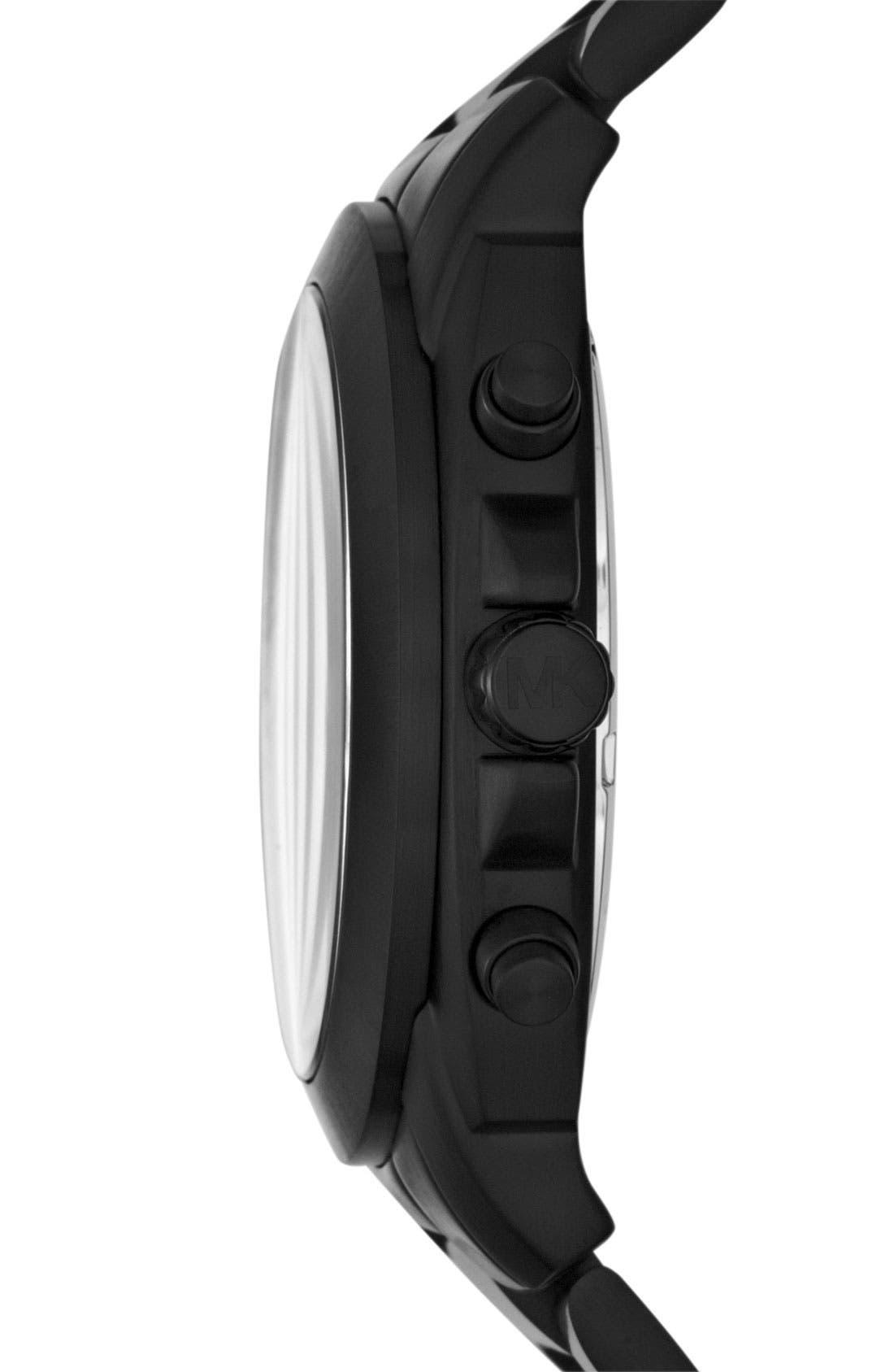 Alternate Image 2  - Michael Kors 'Cameron' Chronograph Bracelet Watch, 47mm