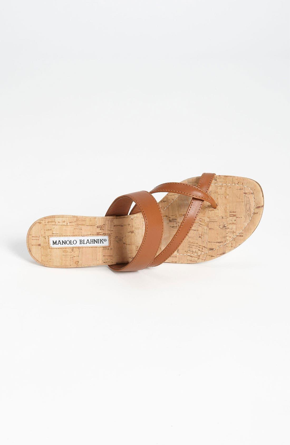 Alternate Image 3  - Manolo Blahnik 'Susa' Sandal