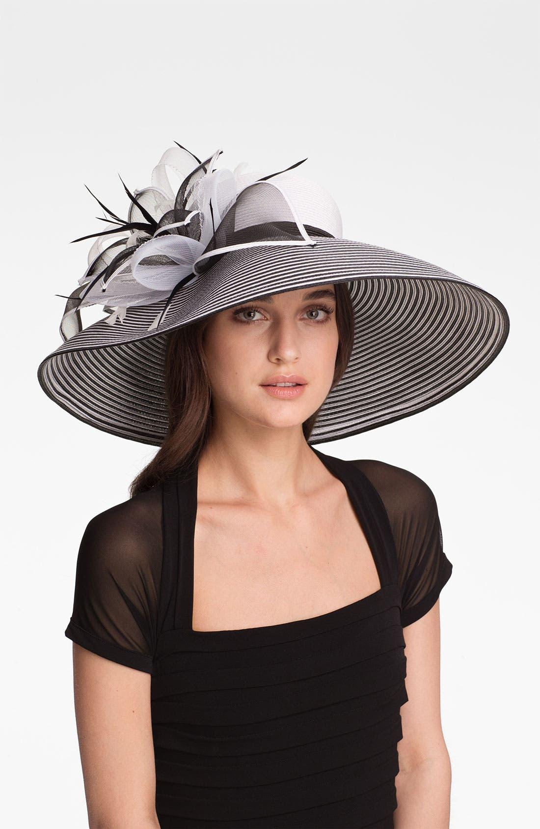 Alternate Image 1 Selected - August Hat 'Garnet' Wide Brim Hat