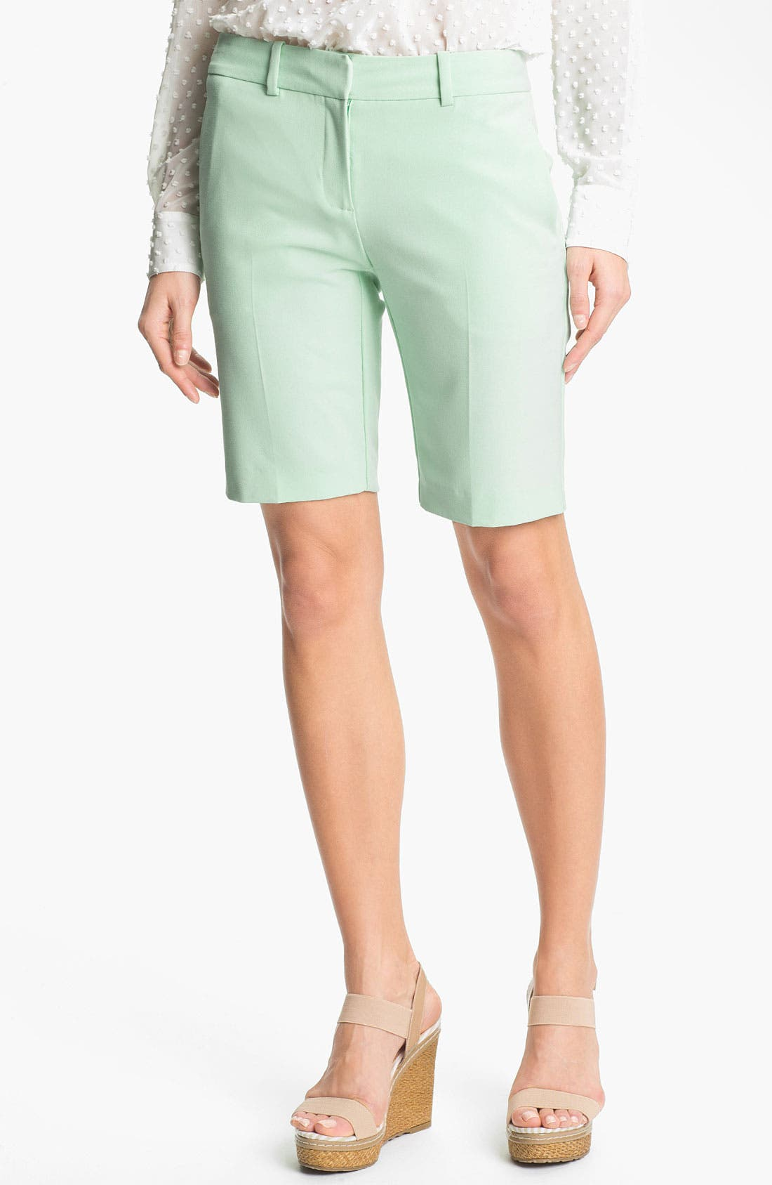 Bermuda Shorts,                         Main,                         color, New Mint