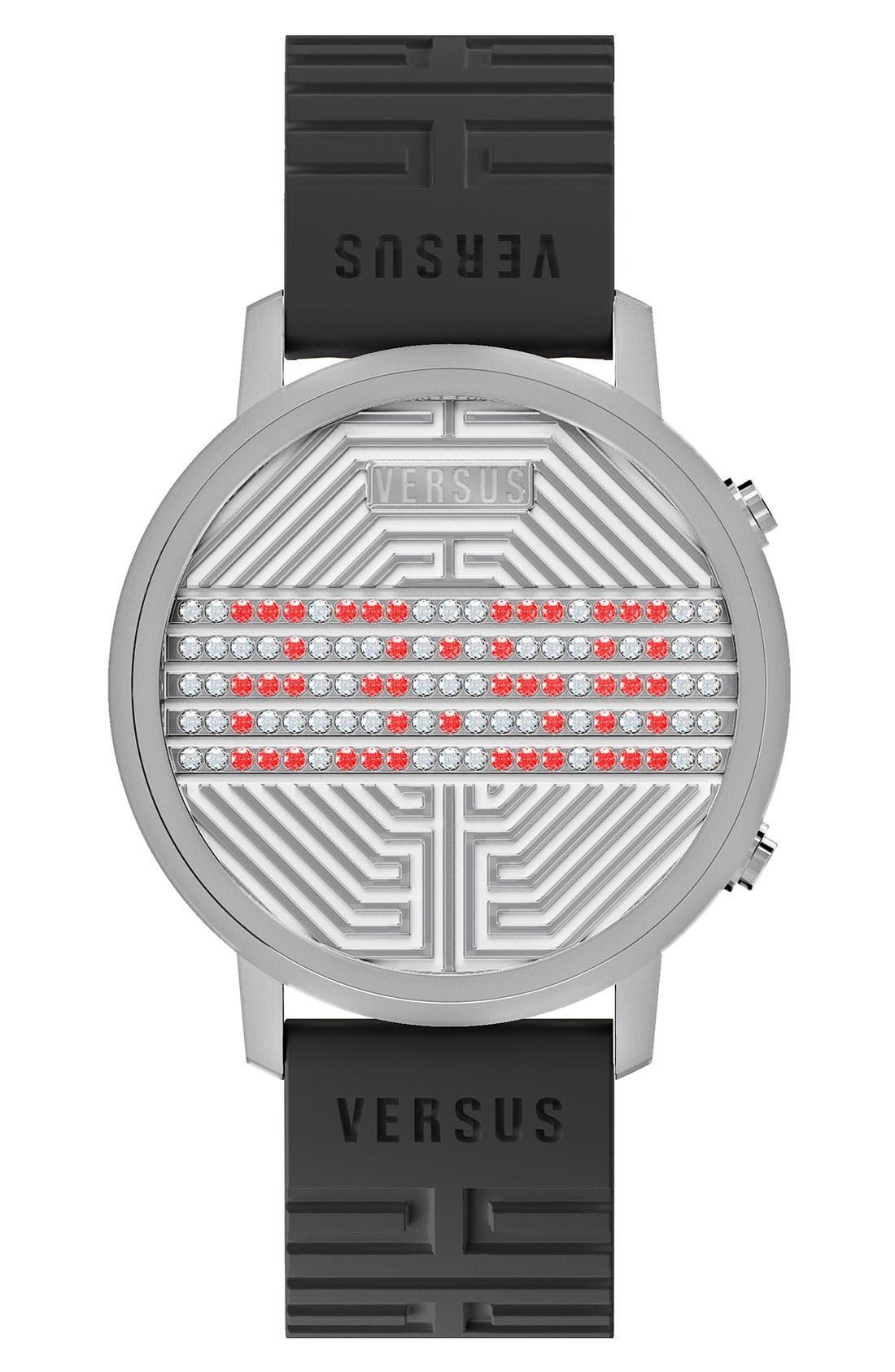 Alternate Image 1 Selected - VERSUS by Versace 'Hollywood' Digital Watch, 31mm