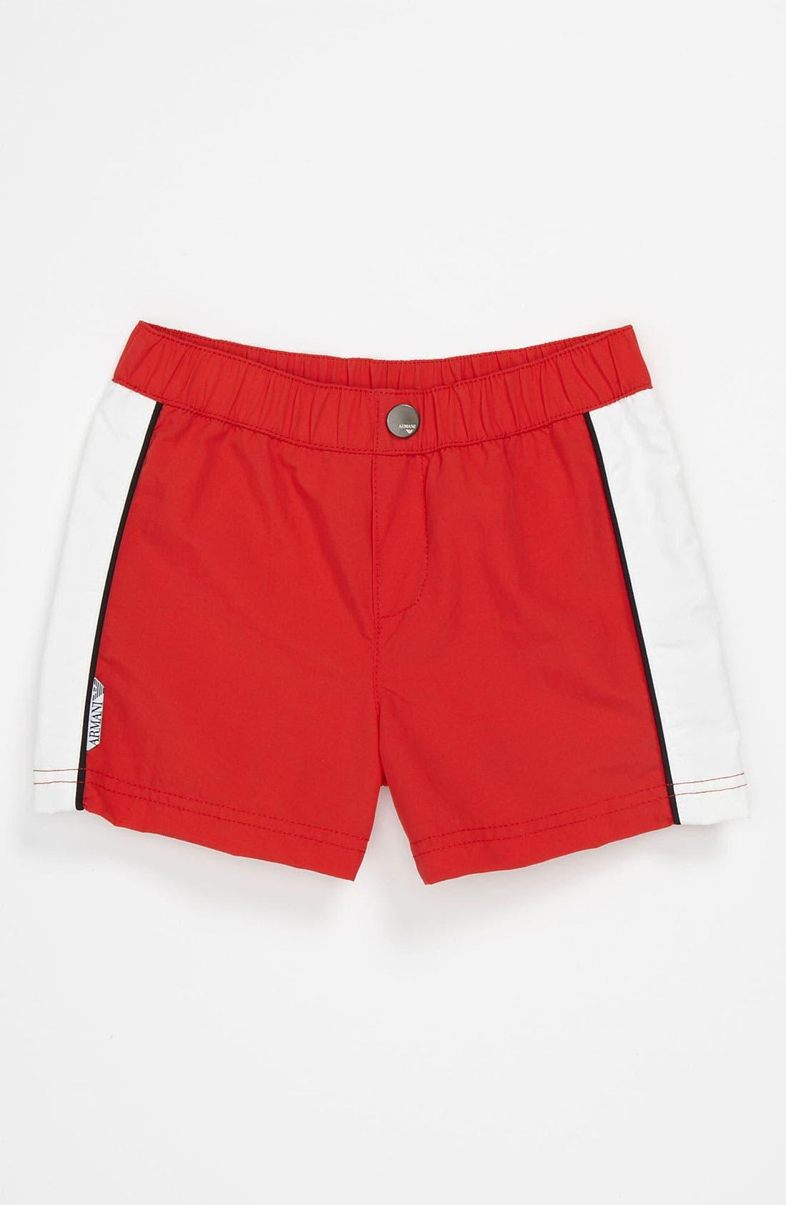 Main Image - Armani Junior Swim Trunks (Baby)