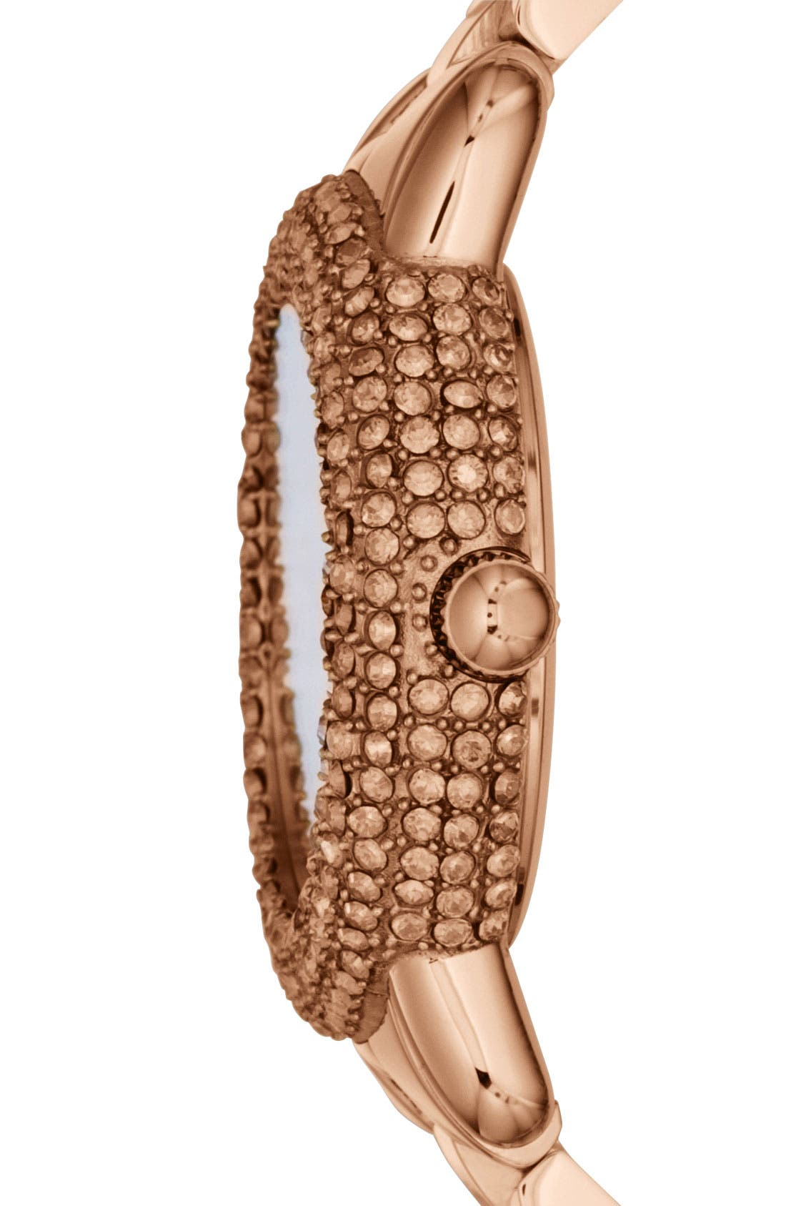 Alternate Image 2  - MARC JACOBS 'Marci' Mirror Dial Crystal Bezel Watch, 36mm