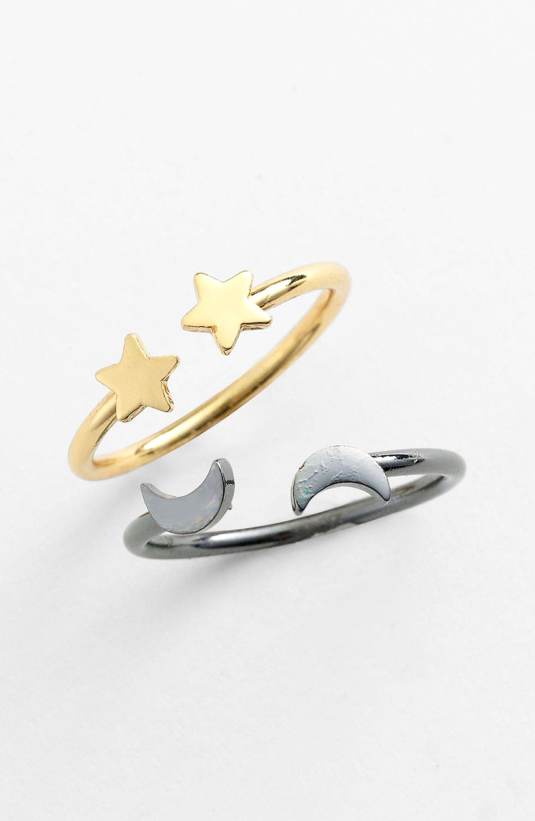 Alternate Image 2  - Kitsch 'Star-ring You' Adjustable Rings