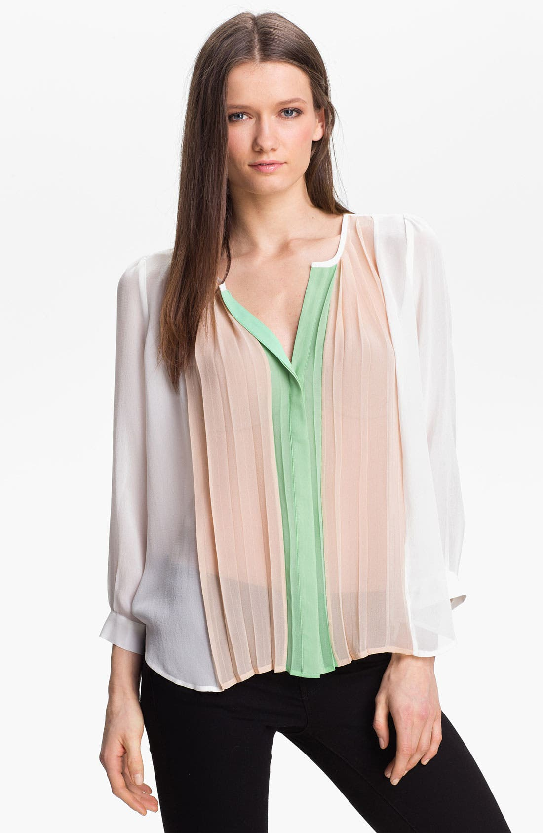 Alternate Image 1 Selected - Joie 'Sinden' Silk Top