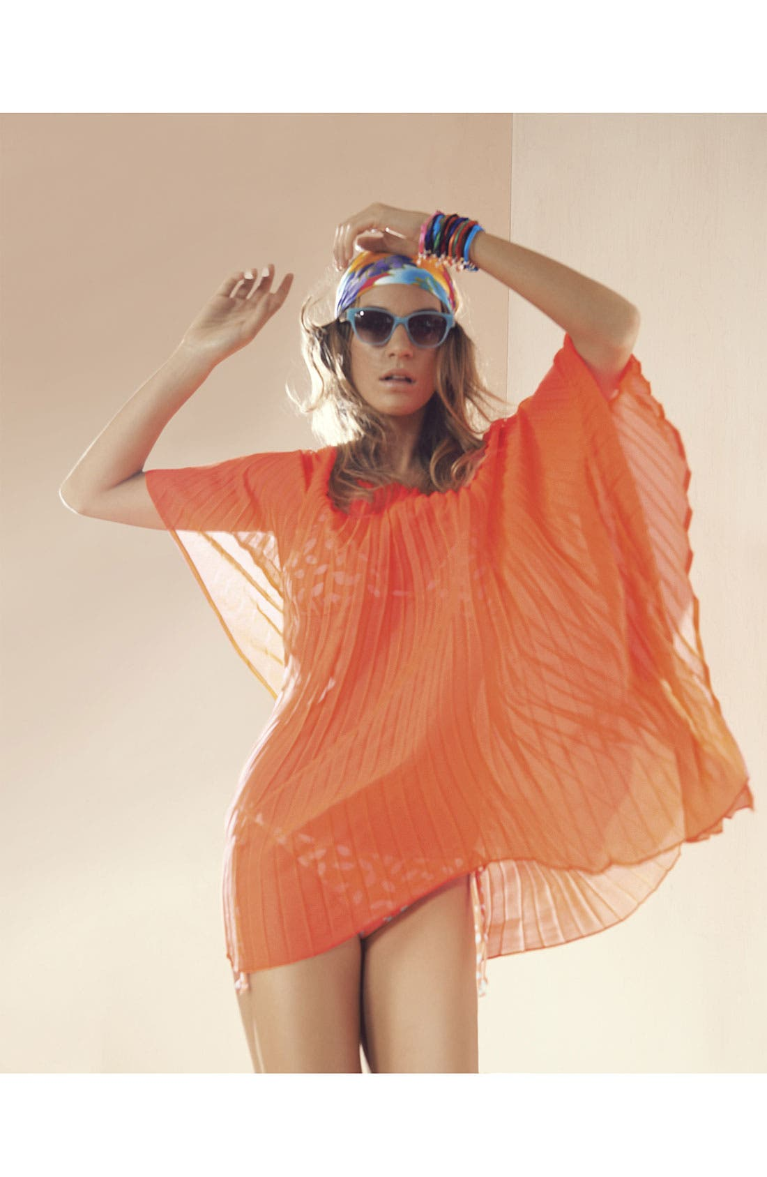 Alternate Image 3  - Steve Madden Pleated Cover-Up