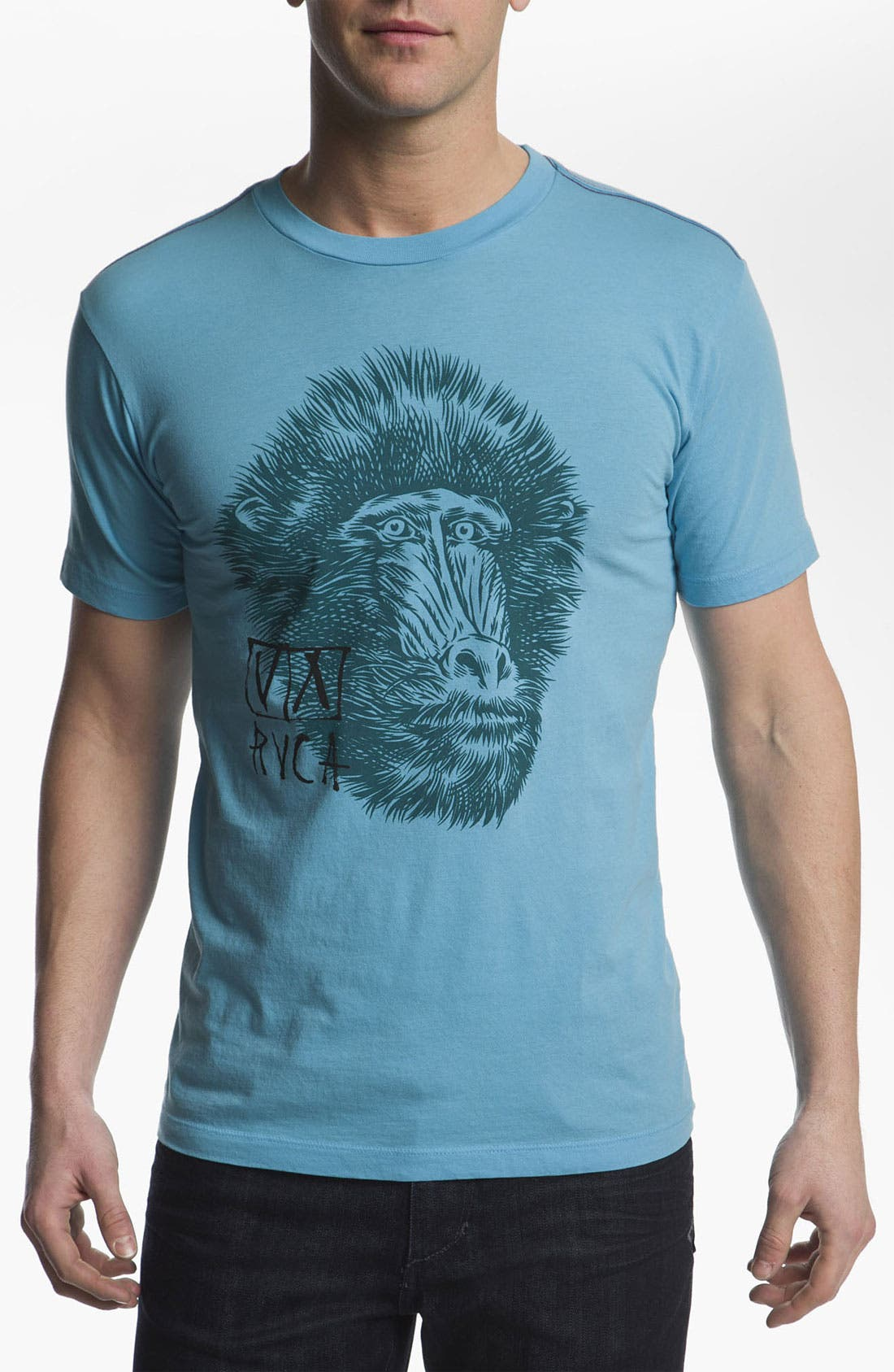 Alternate Image 1 Selected - RVCA 'Mandrill' T-Shirt