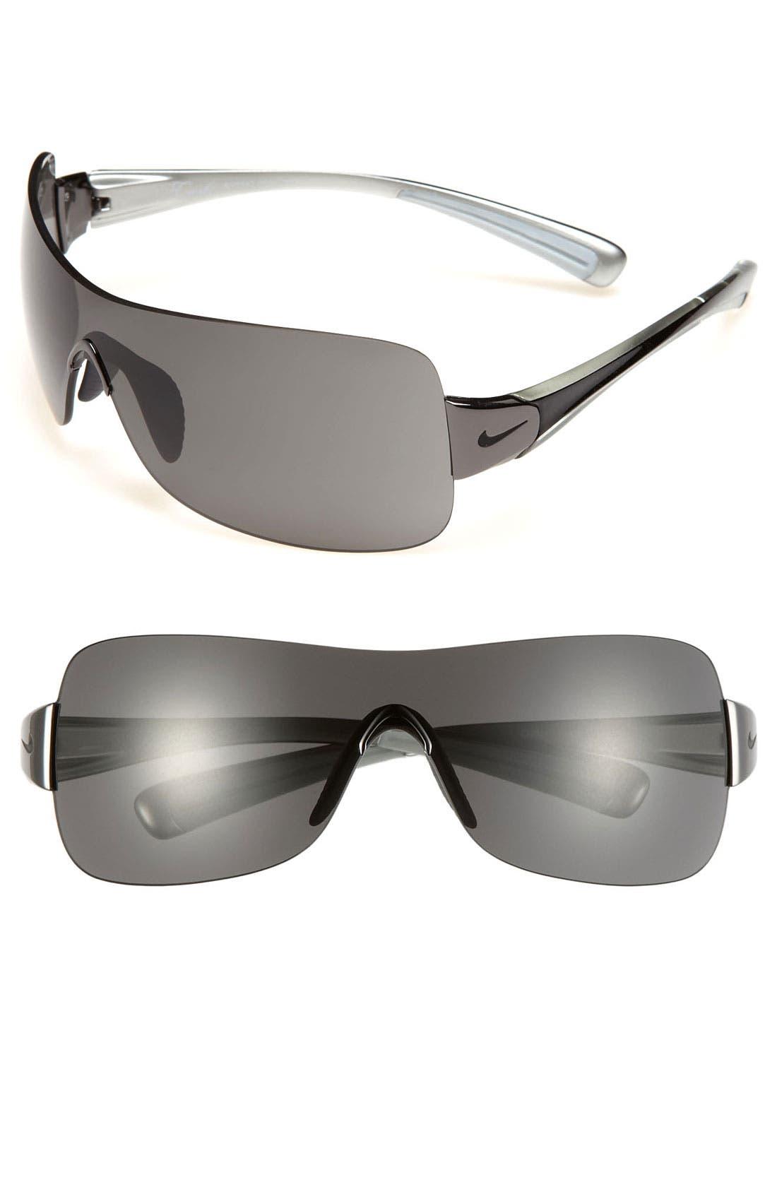 Alternate Image 1 Selected - Nike 'Crush' 61mm Rimless Shield Sunglasses