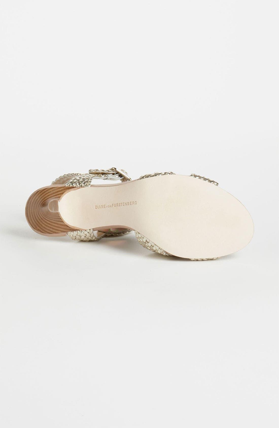 Alternate Image 4  - Diane von Furstenberg 'Villana' Sandal