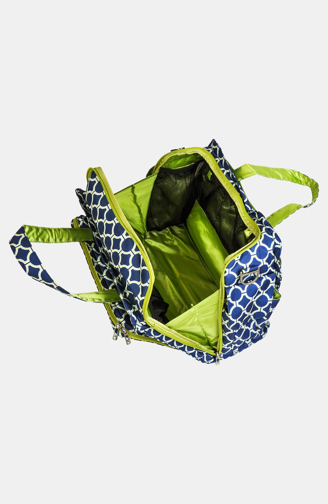 'Be Prepared' Diaper Tote,                             Alternate thumbnail 2, color,                             Royal Envy