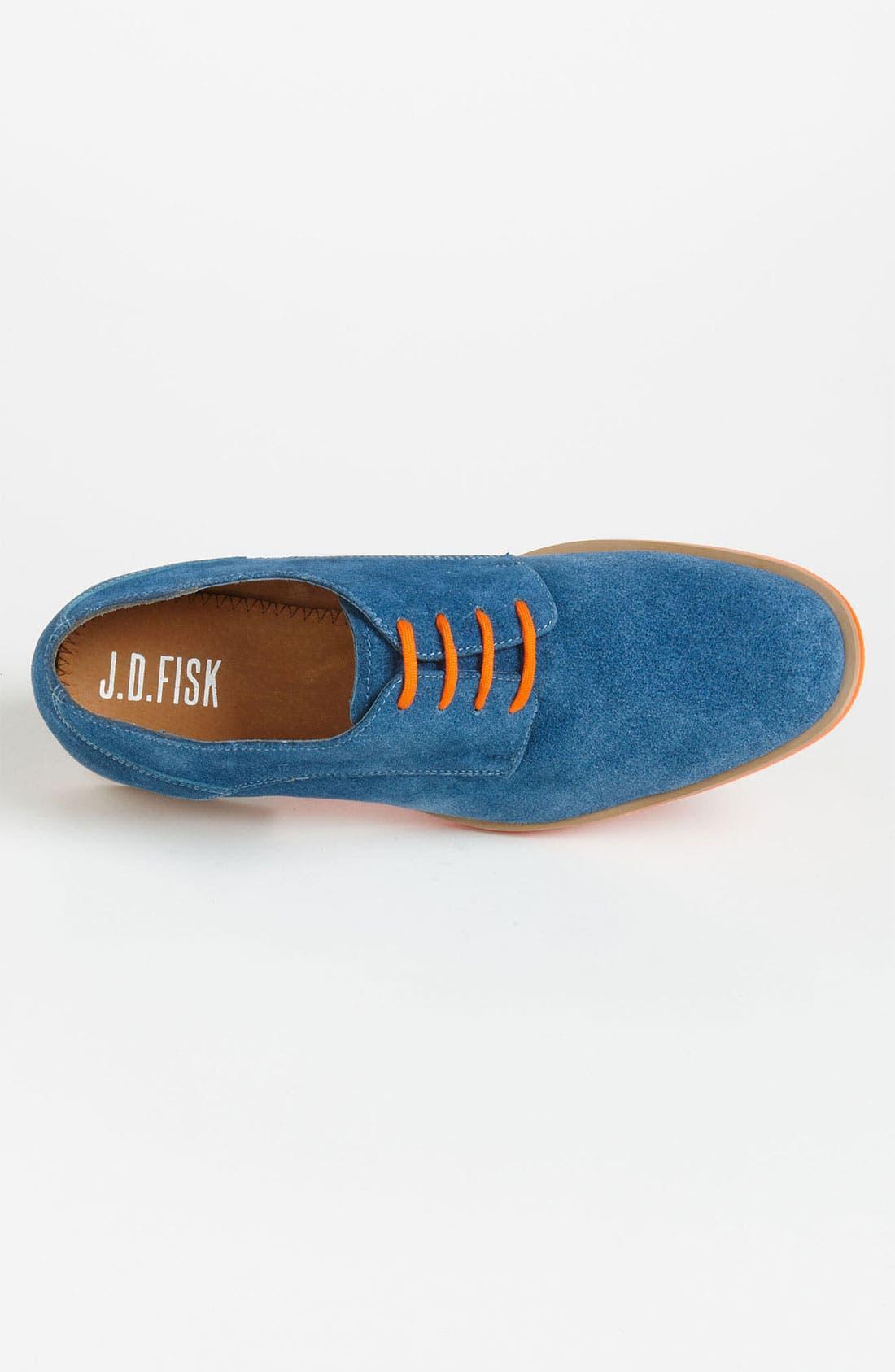 Alternate Image 3  - J.D. Fisk 'Callum' Suede Buck Shoe