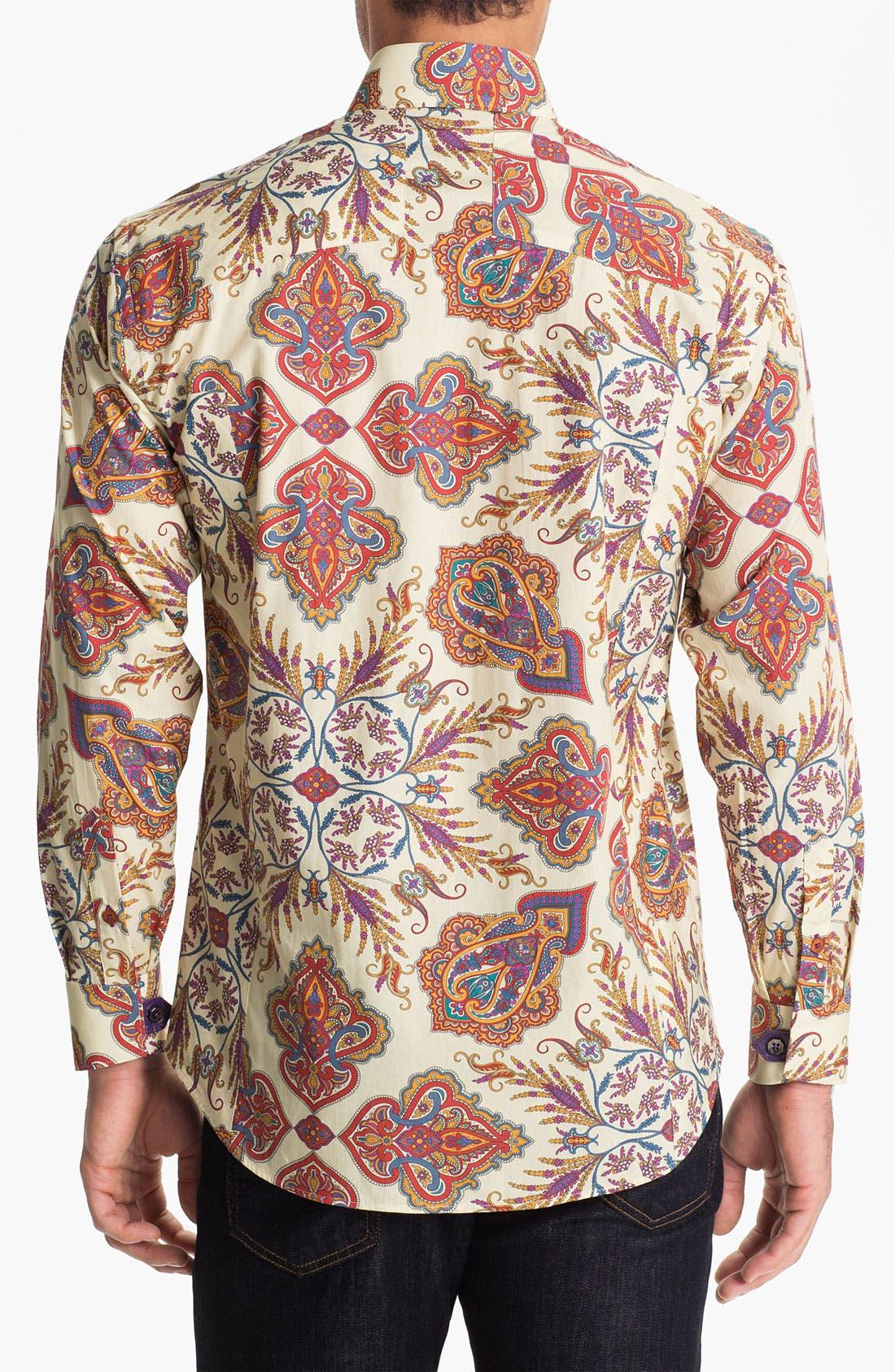 Alternate Image 2  - Bogosse 'Clau 67' Regular Fit Sport Shirt