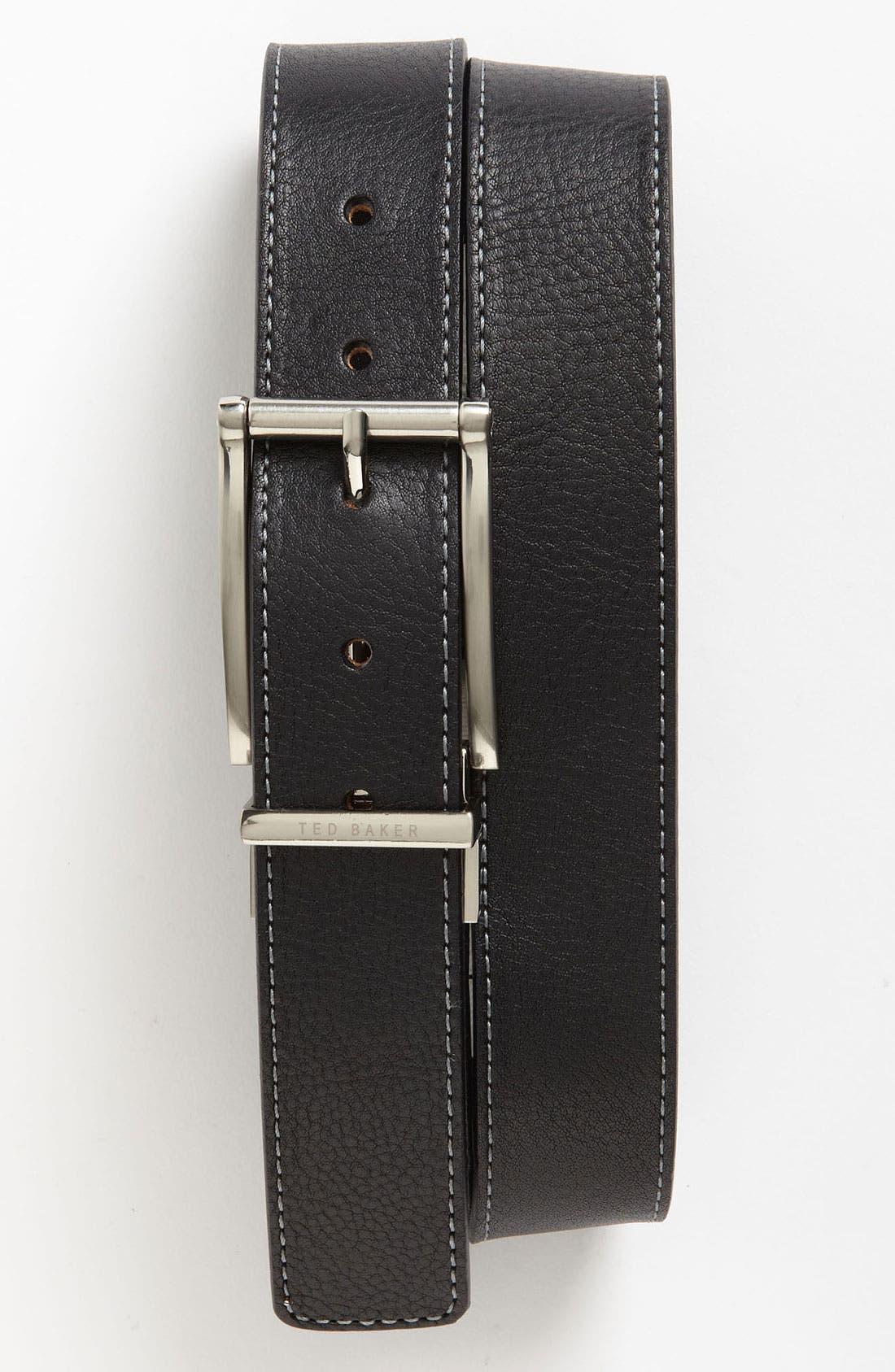 Alternate Image 1 Selected - Ted Baker London Reversible Belt