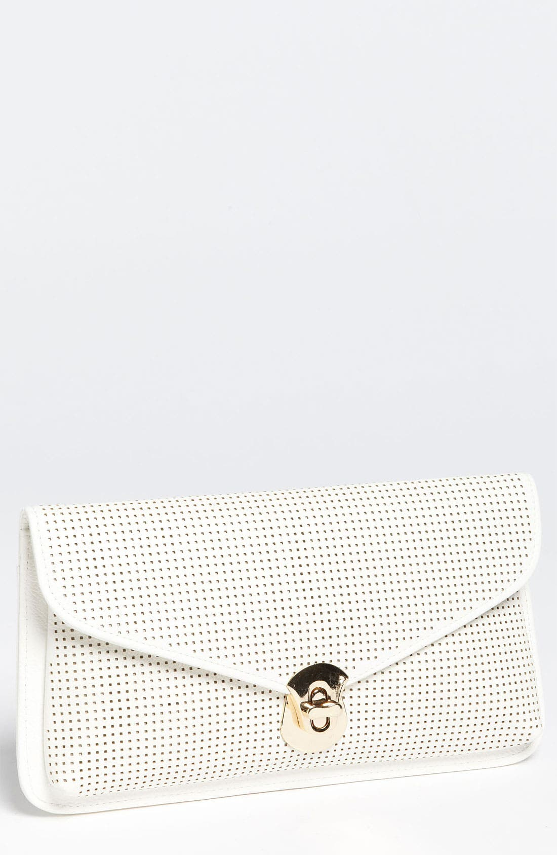 Main Image - Urban Expressions Handbags Perforated Clutch