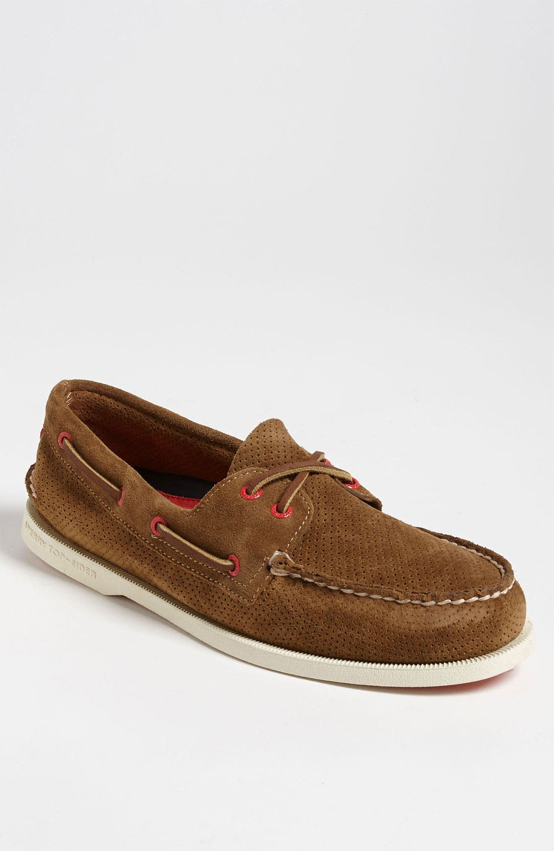 Main Image - Sperry Top-Sider® 'Authentic Original' Suede Boat Shoe (Men)
