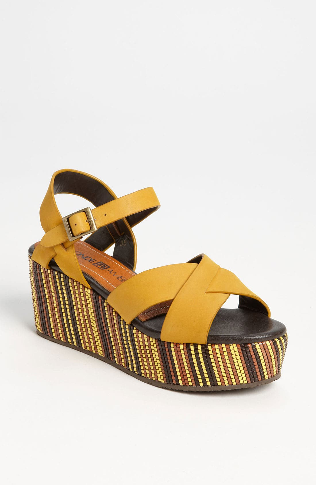 Alternate Image 1 Selected - Blonde Ambition 'Maldita' Sandal