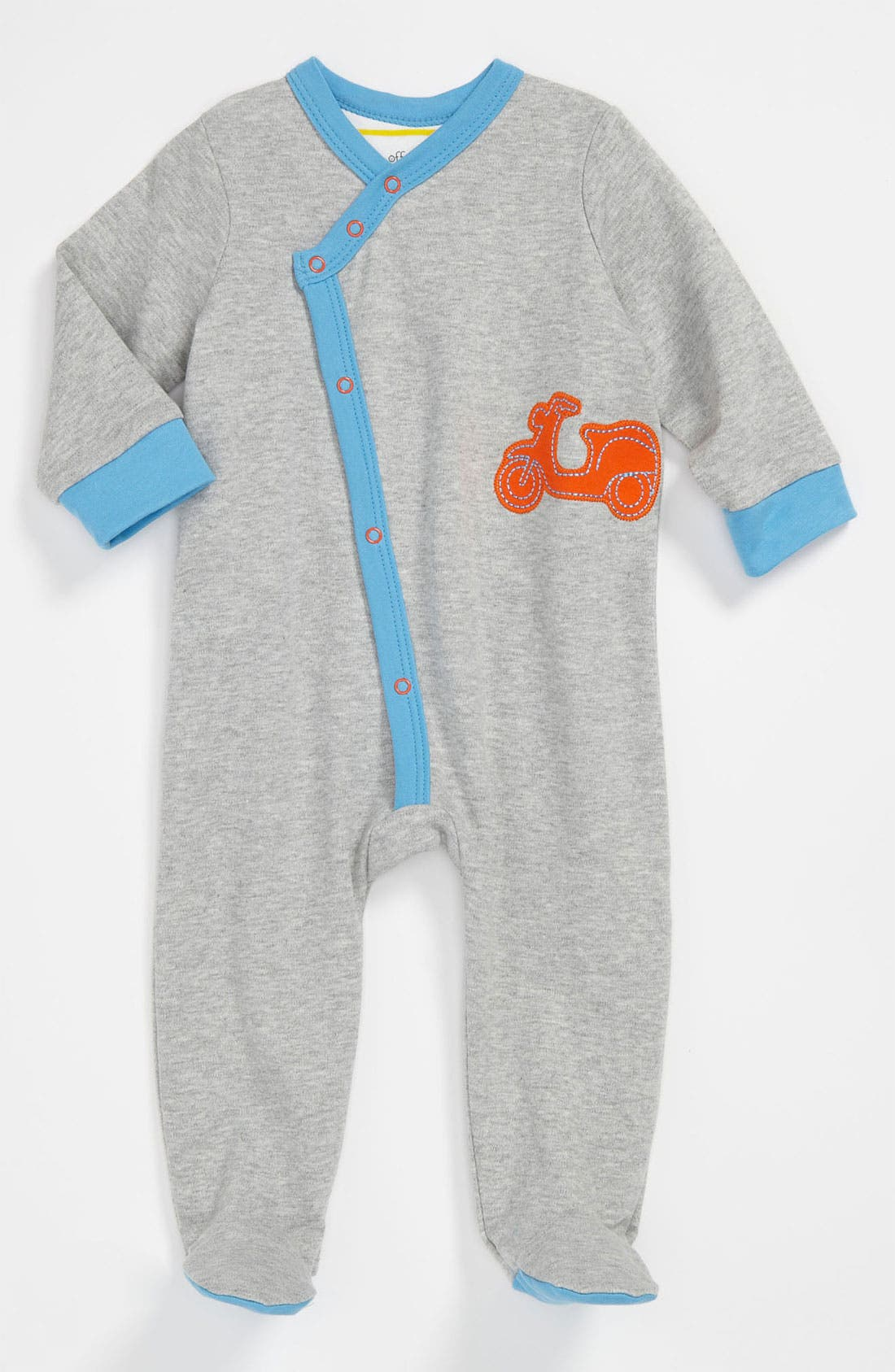 Main Image - Offspring 'Wheels' Footie (Baby)