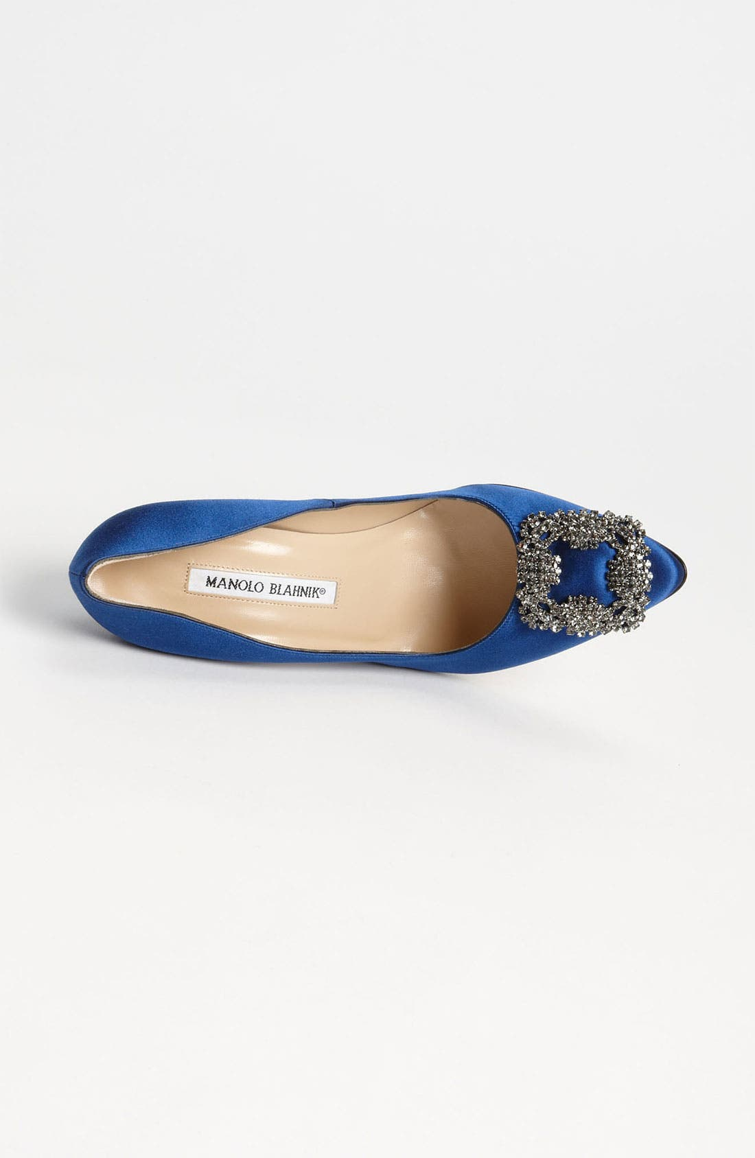 Alternate Image 3  - Manolo Blahnik 'Hangisi' Jewel Pump (Women)