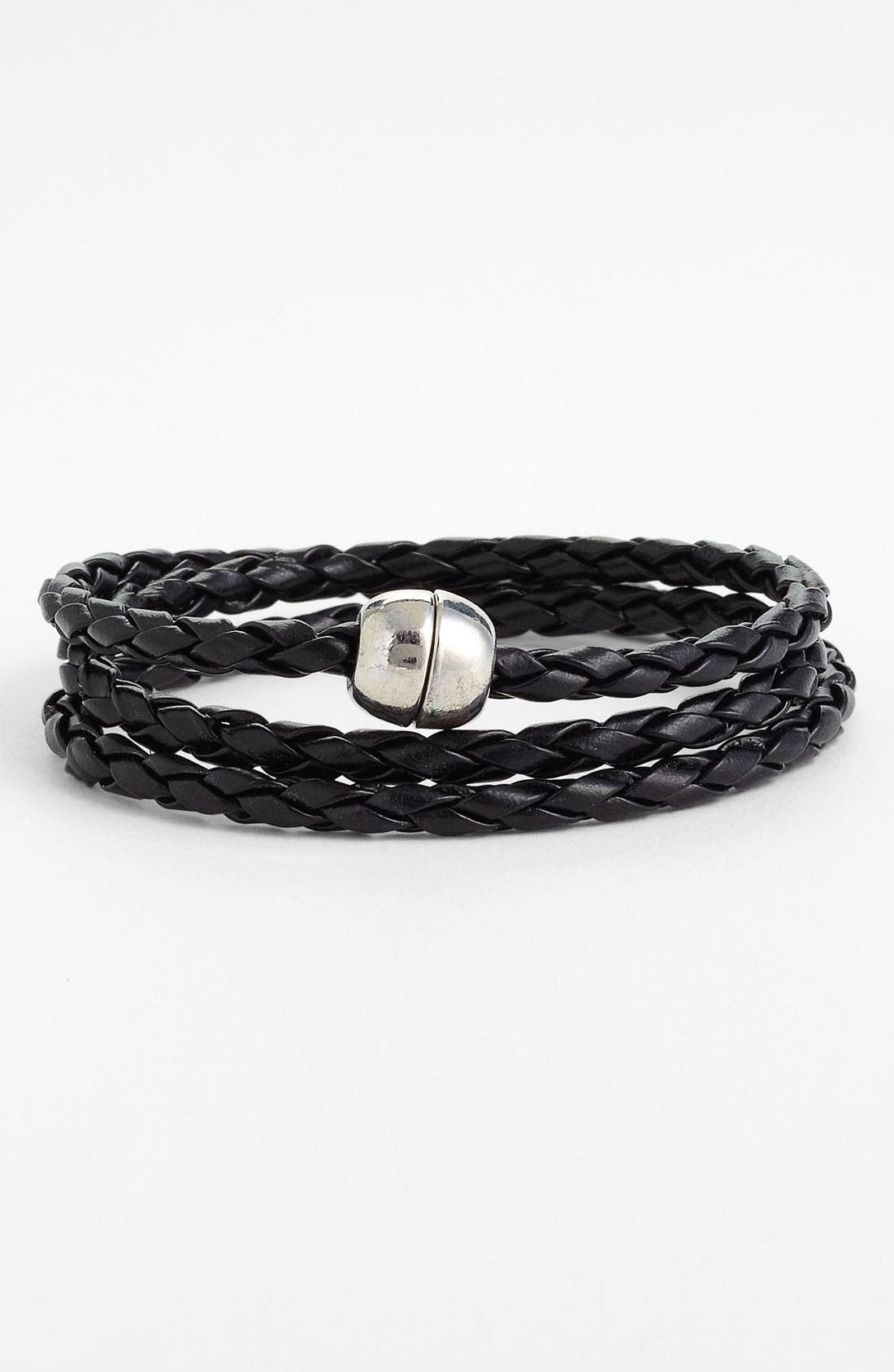 Main Image - Carole Braided Rope Bracelet