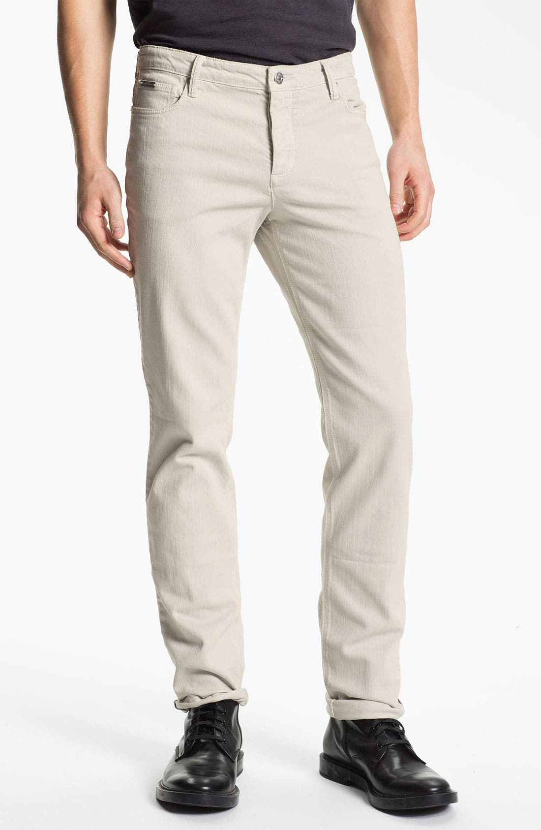 Alternate Image 1 Selected - Zadig & Voltaire 'Strokes' Straight Leg Jeans