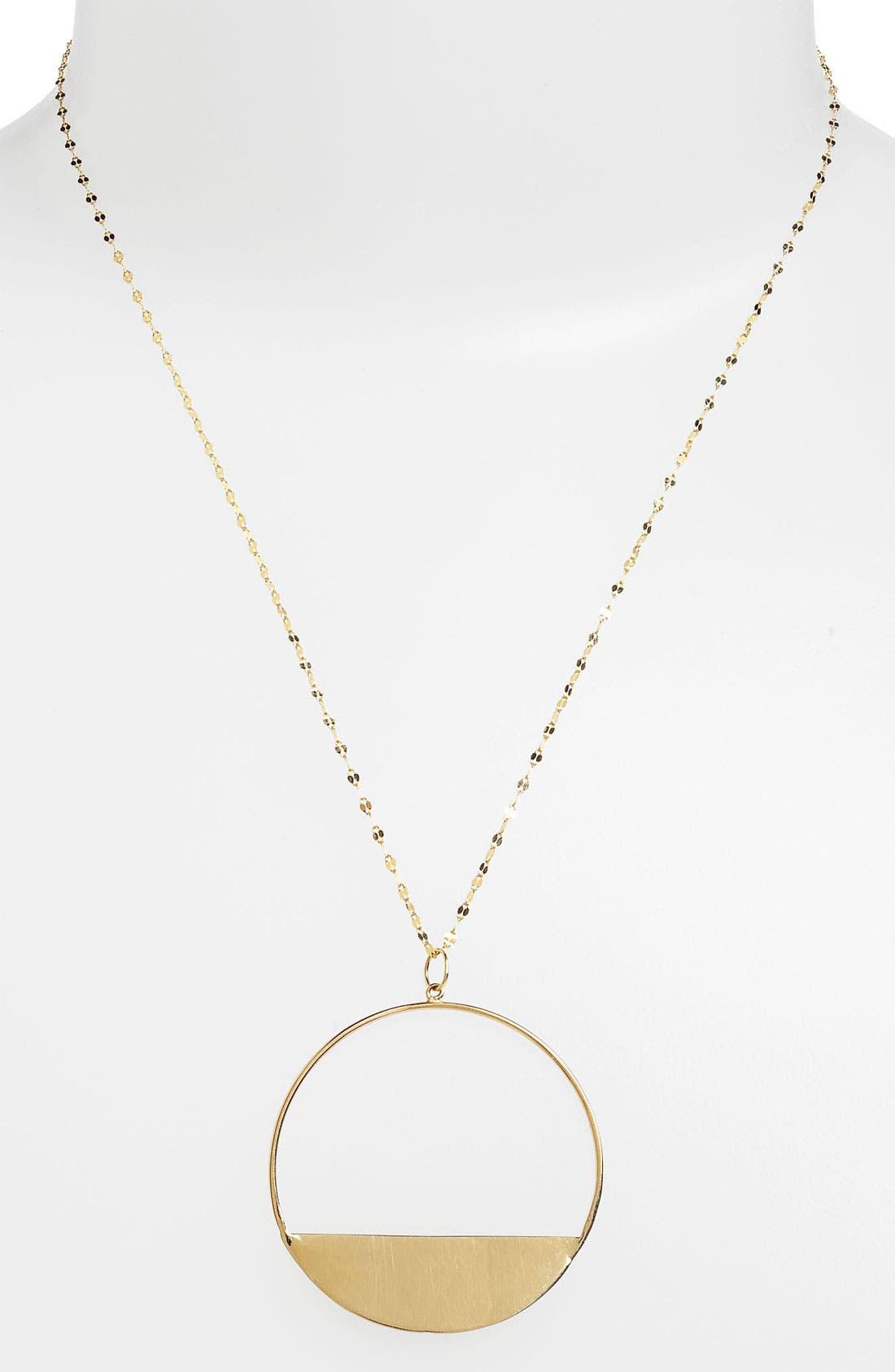 Alternate Image 1 Selected - Lana Jewelry Medium Eclipse Pendant Necklace