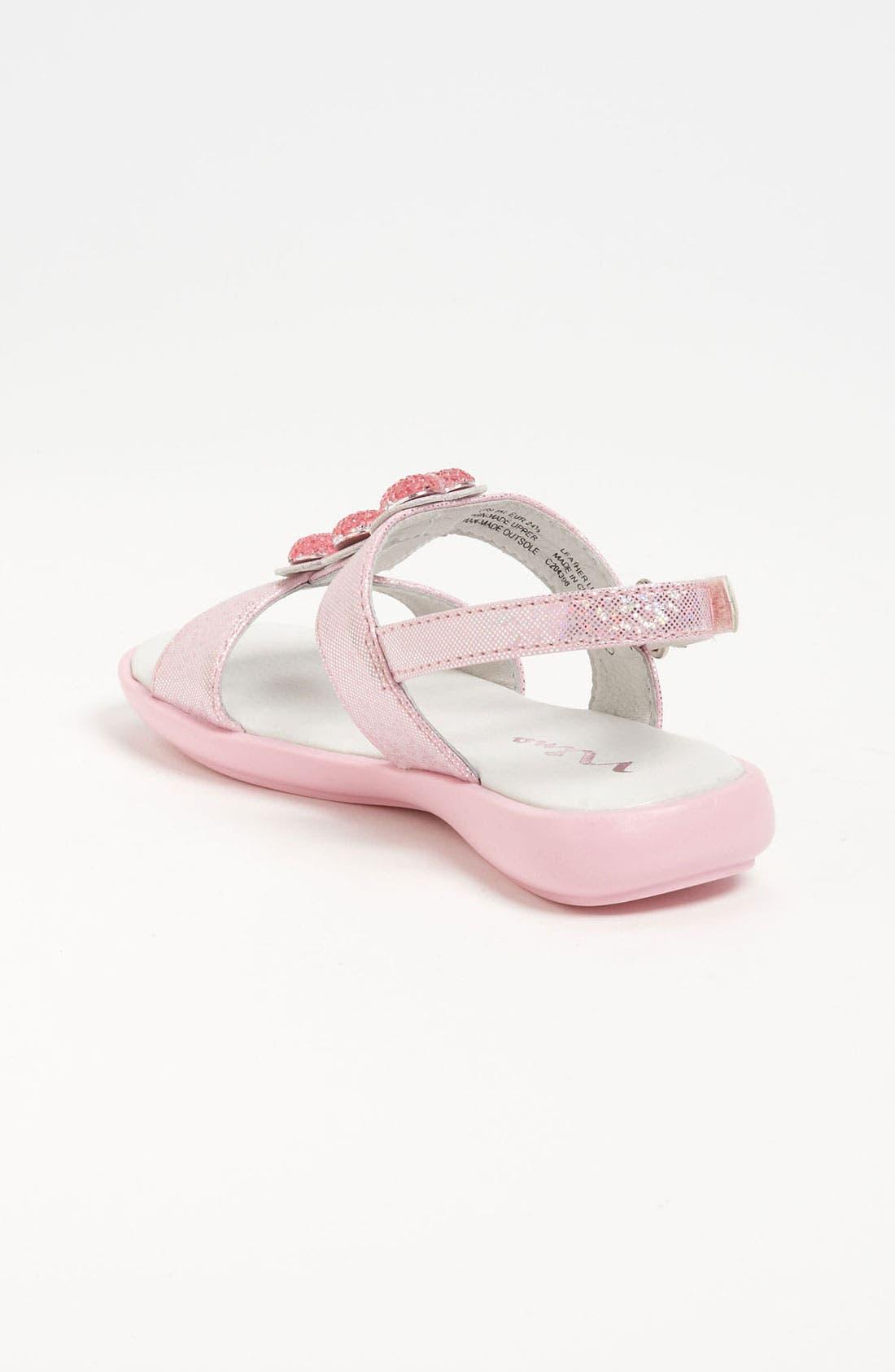 Alternate Image 2  - Nina 'Clarina' Heart Sandal (Walker & Toddler)