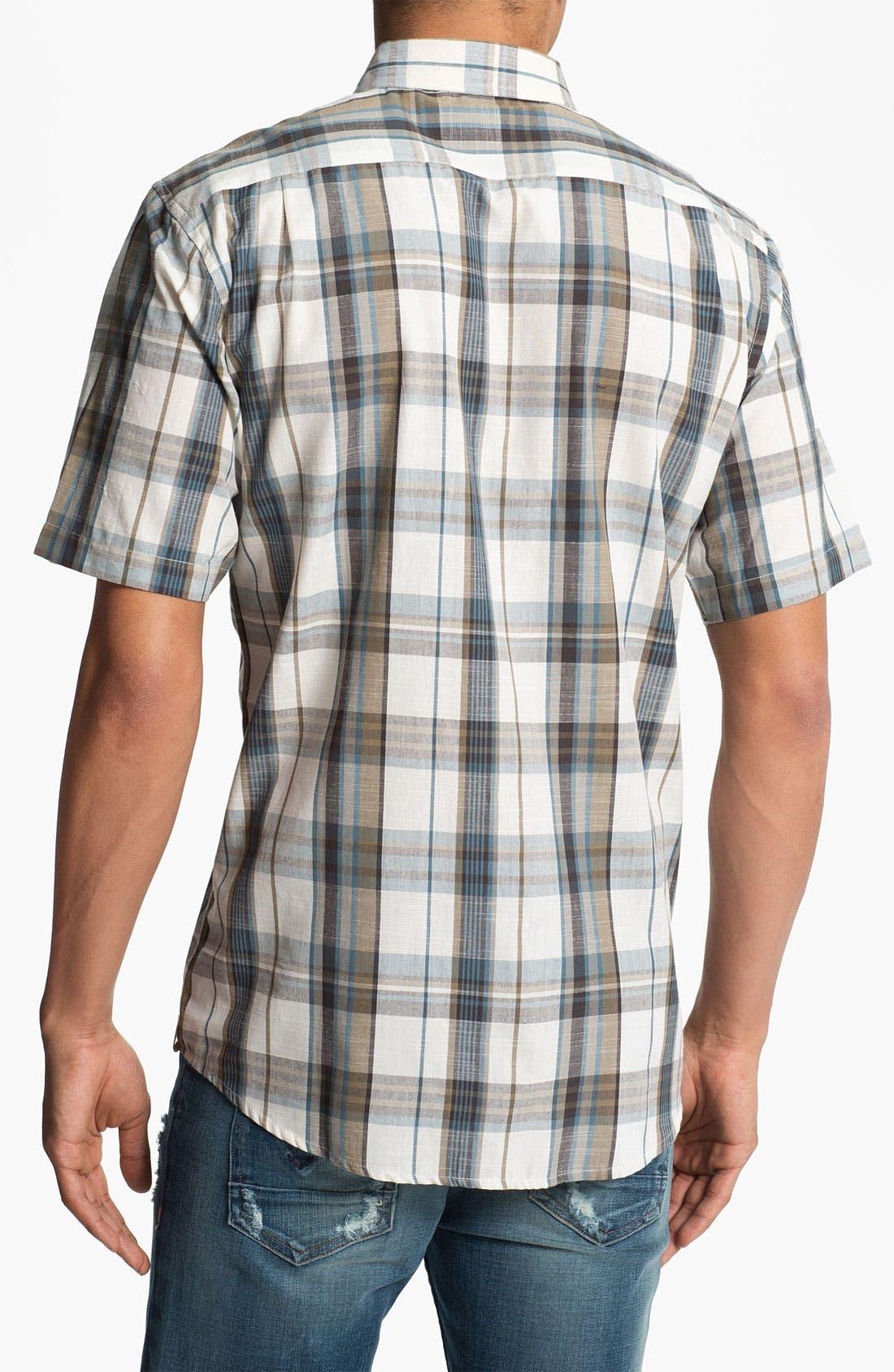 Alternate Image 2  - Ezekiel 'Woodhouse' Short Sleeve Plaid Woven Shirt