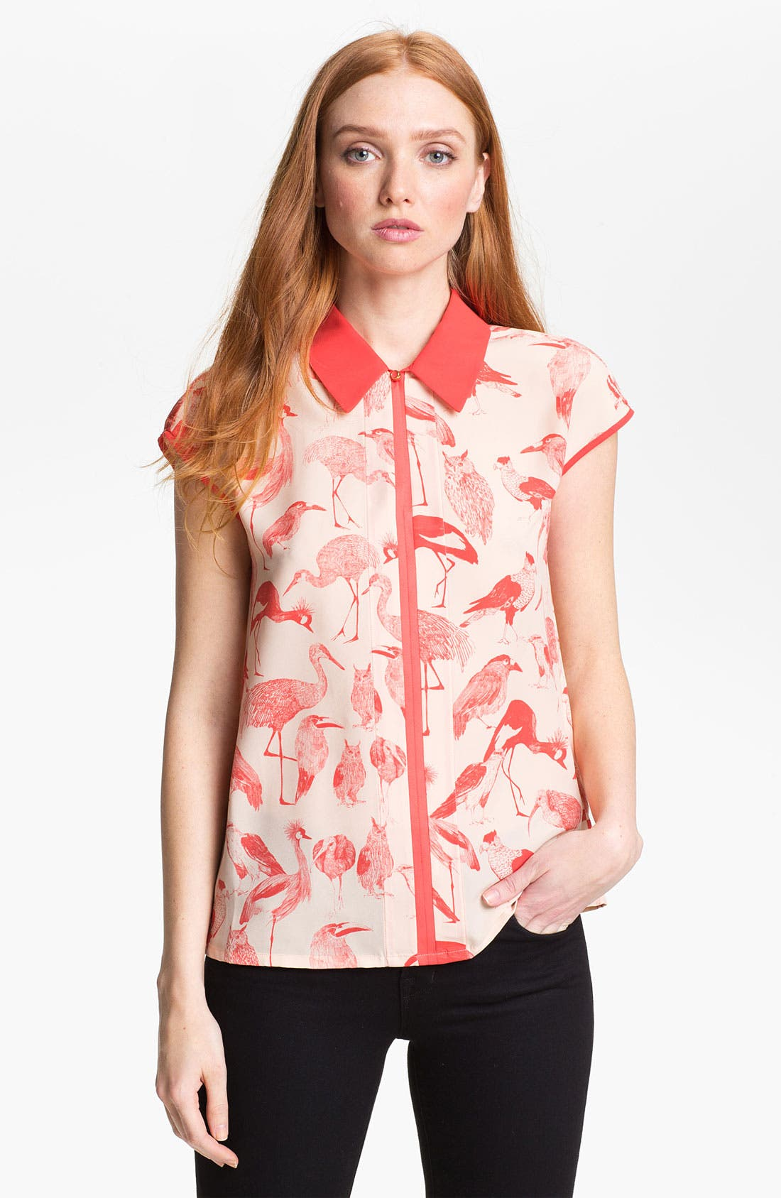 Alternate Image 1 Selected - Ted Baker London Print Shirt (Online Only)