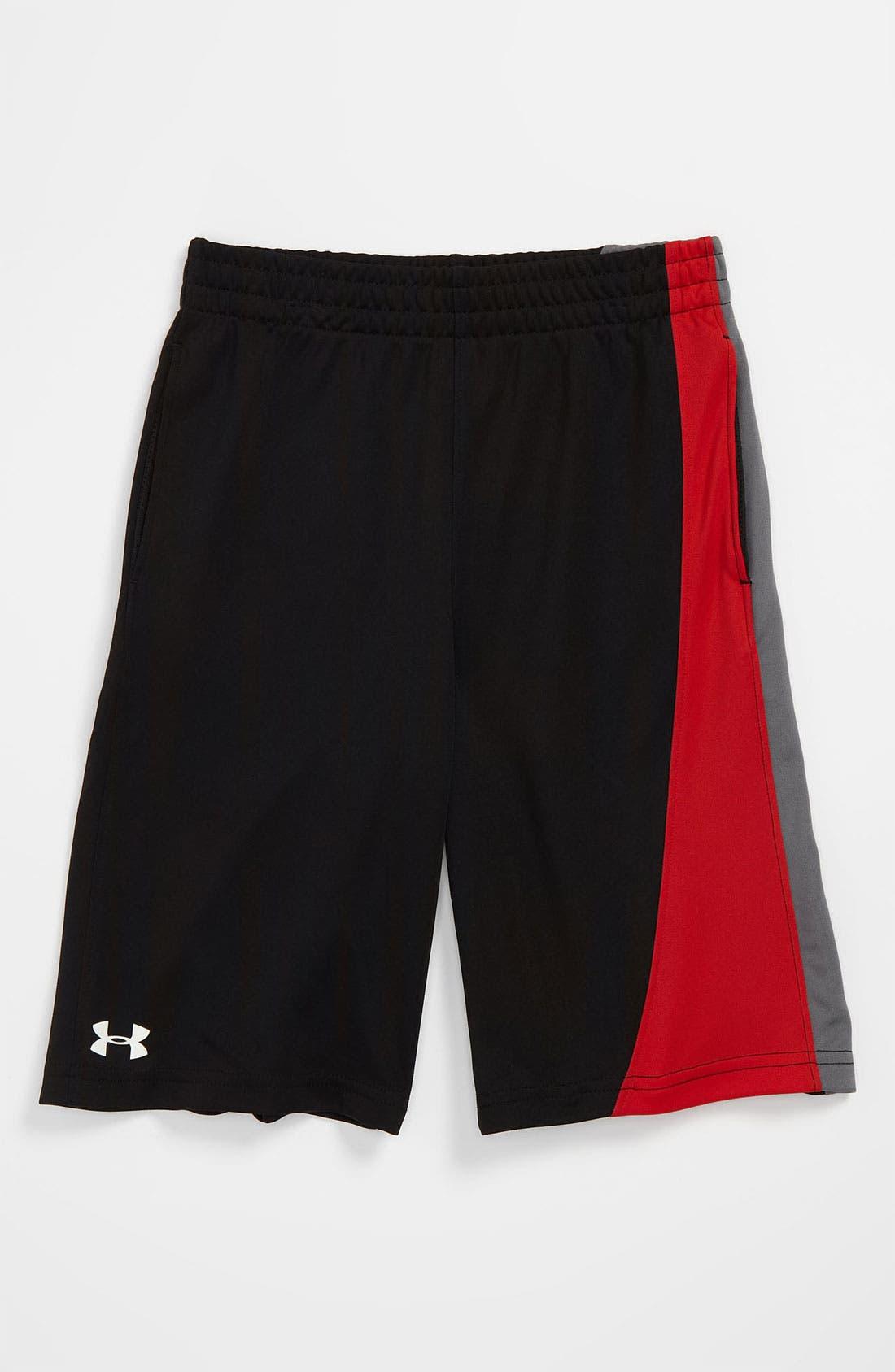 Main Image - Under Armour 'Flip'  HeatGear® Shorts (Little Boys)