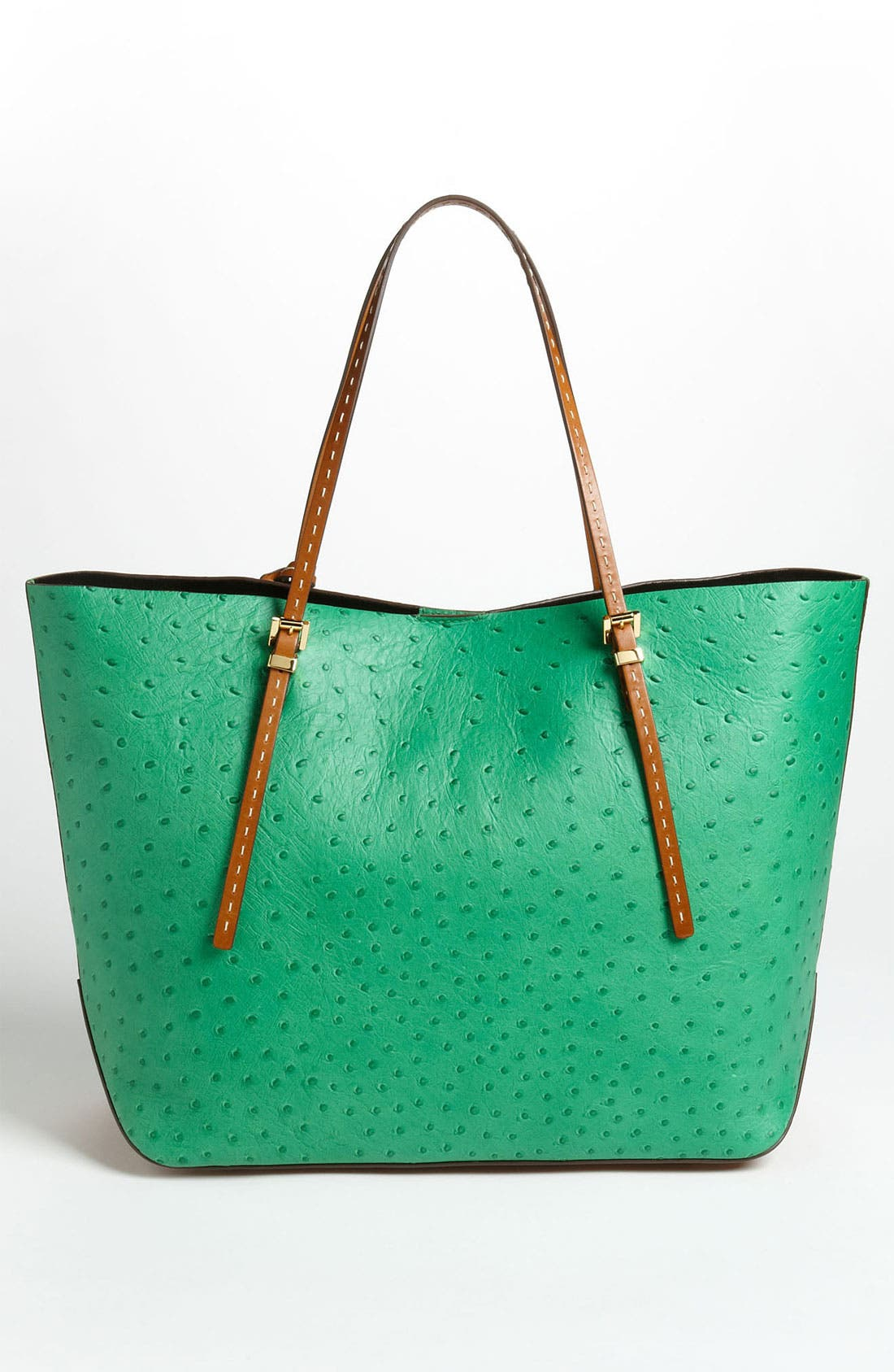 Alternate Image 4  - Michael Kors 'Gia' Ostrich Embossed Tote