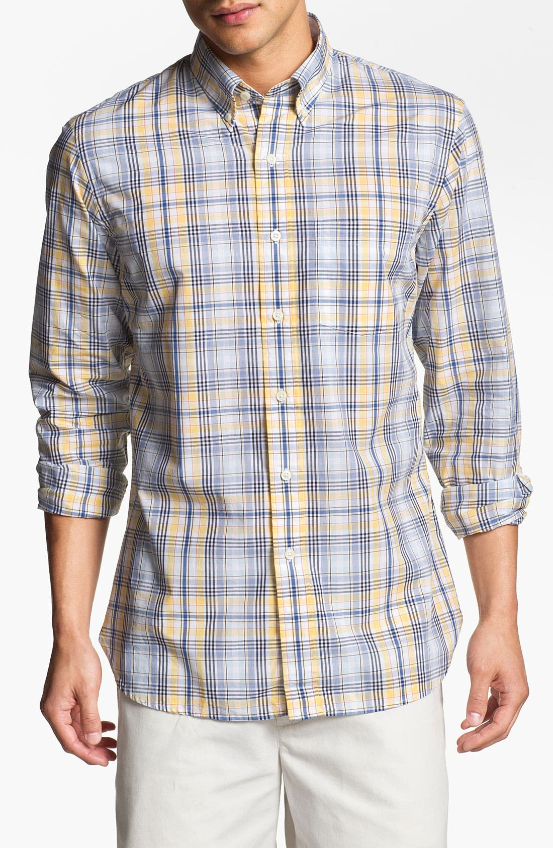 Alternate Image 1 Selected - Brooks Brothers Regular Fit Sport Shirt