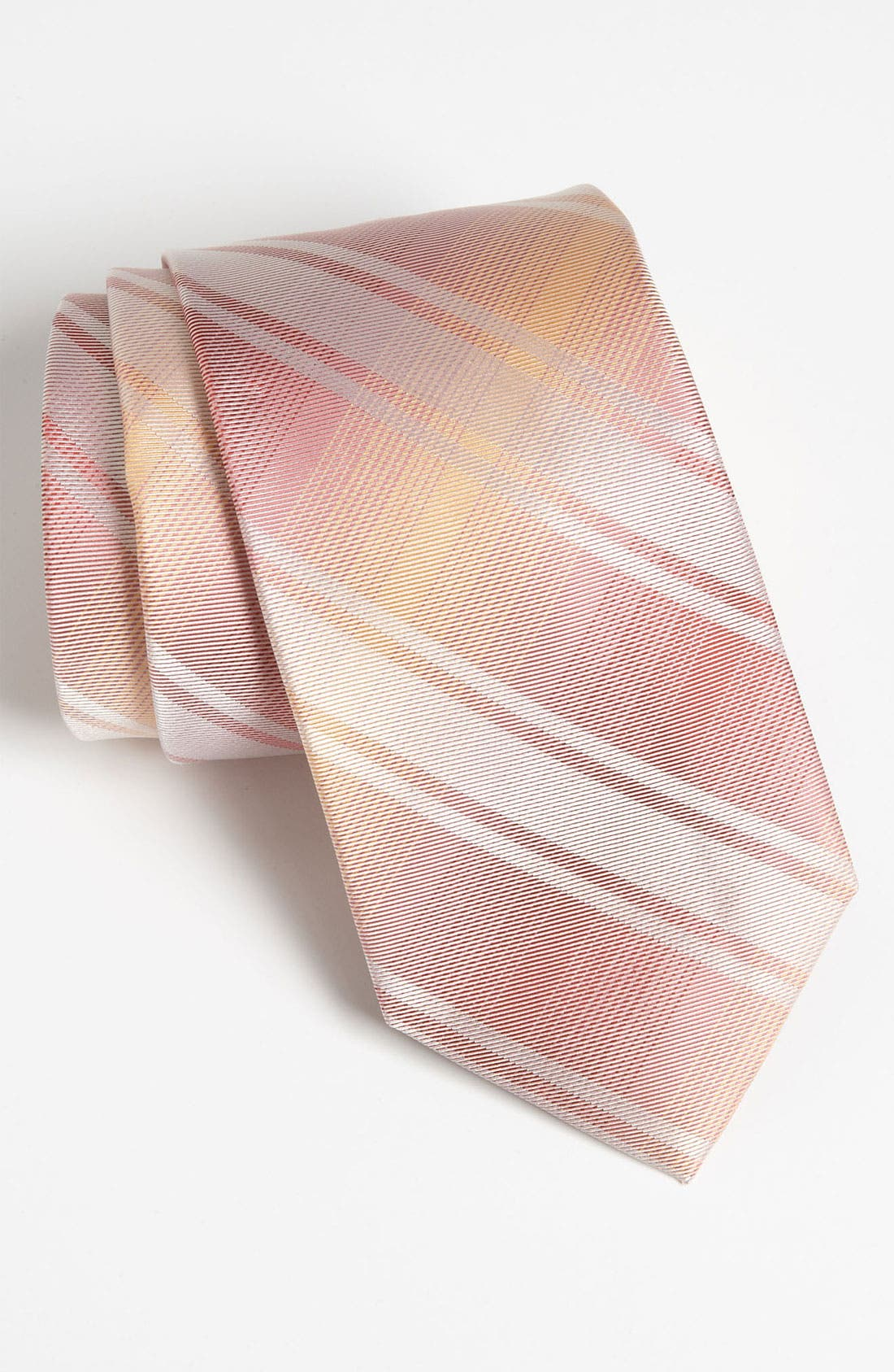 Alternate Image 1 Selected - Calvin Klein Woven Silk Tie