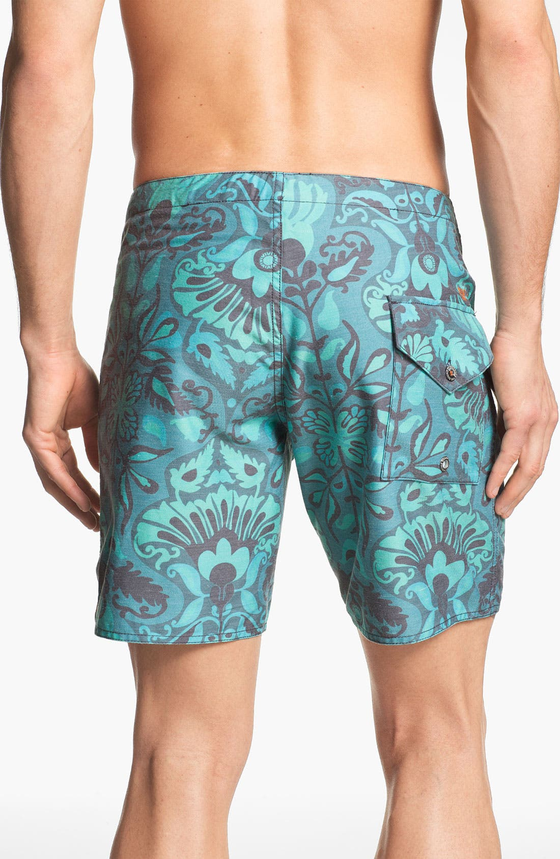 'NPJ 2' Board Shorts,                             Alternate thumbnail 2, color,                             Blue